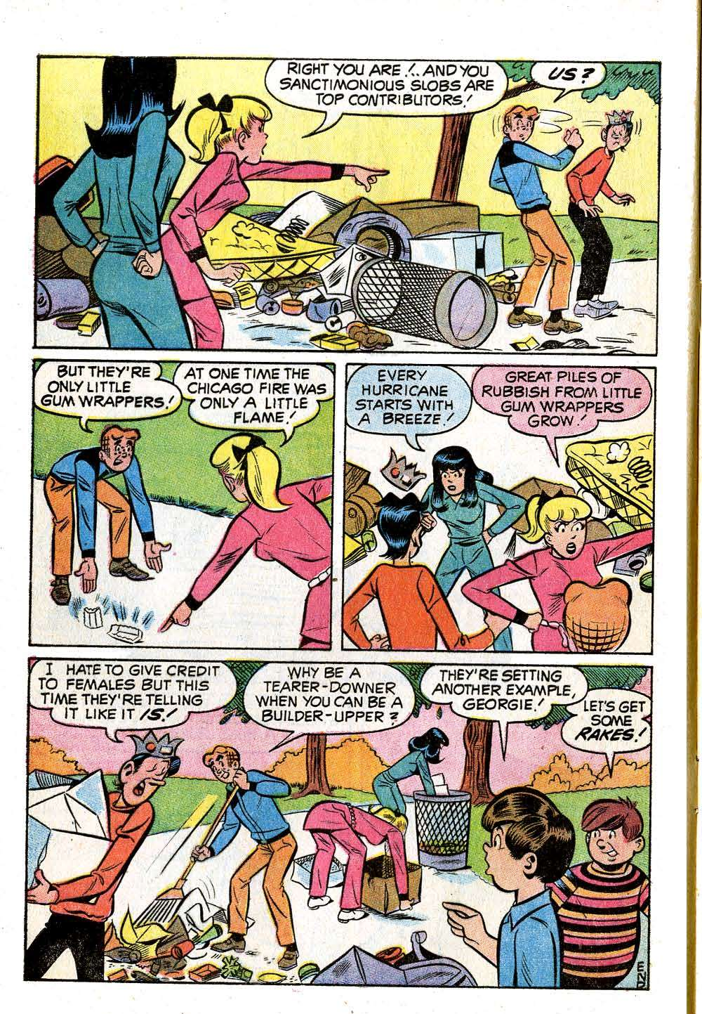 Read online Archie (1960) comic -  Issue #210 - 8