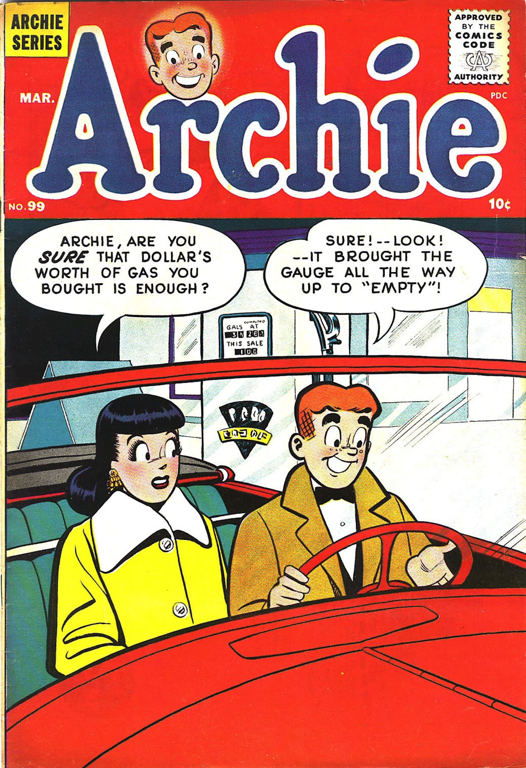 Archie Comics issue 099 - Page 1