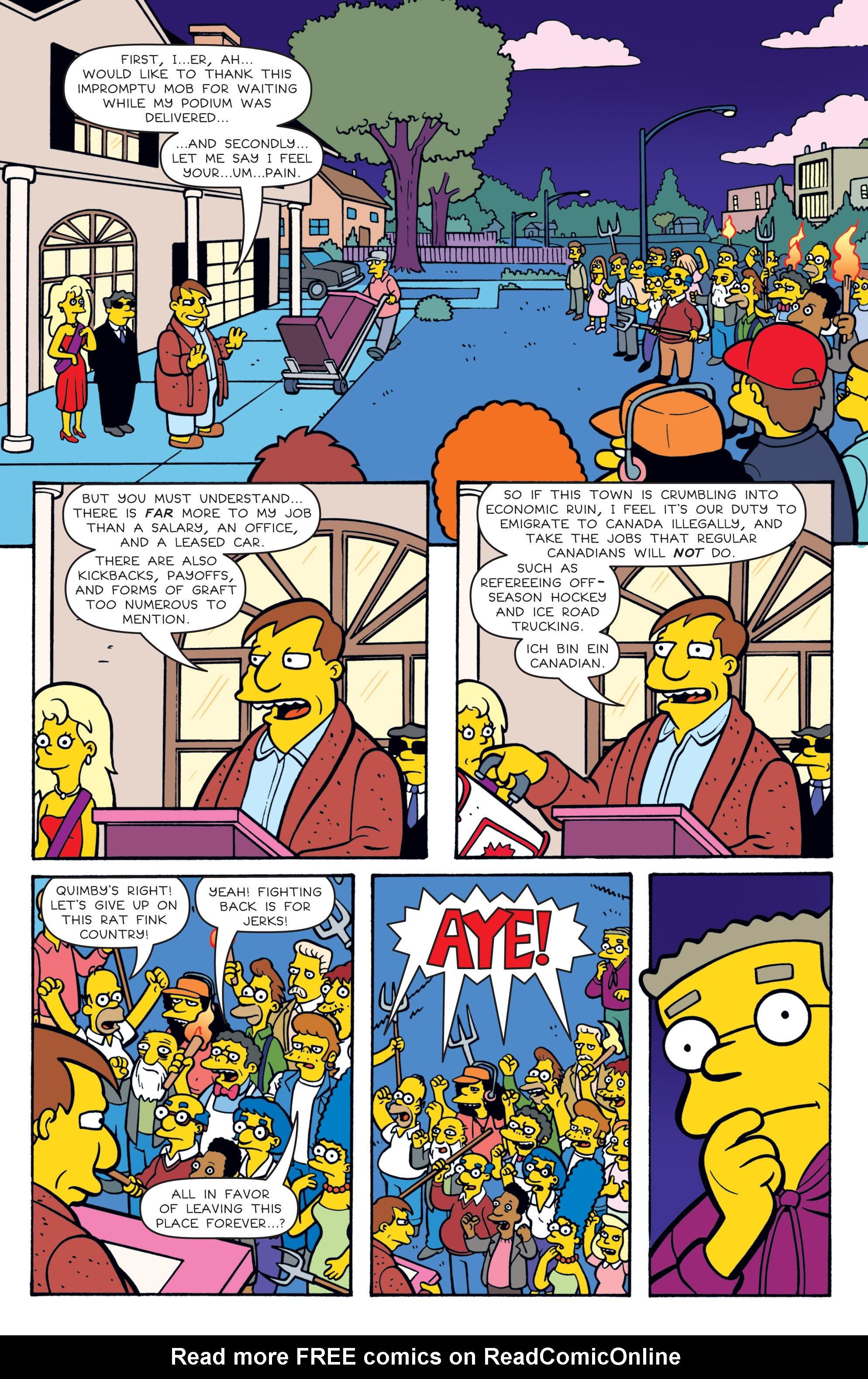 Read online Simpsons Comics comic -  Issue #180 - 7