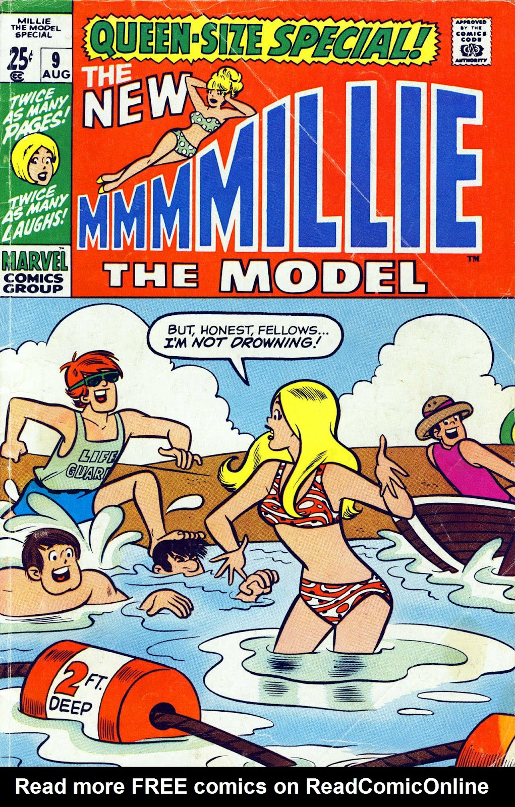 Millie the Model issue Annual 9 - Page 1