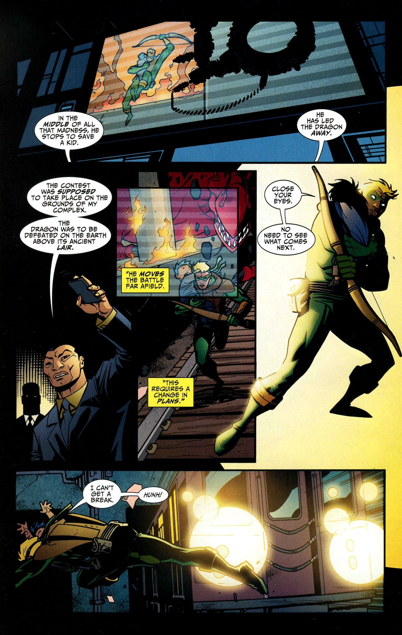 Read online Connor Hawke:  Dragon's Blood comic -  Issue #5 - 11