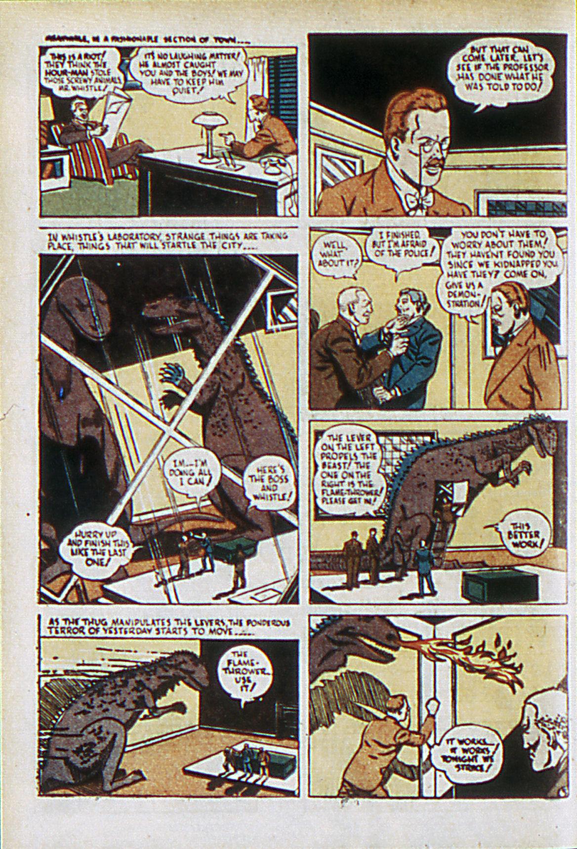 Read online Adventure Comics (1938) comic -  Issue #61 - 35