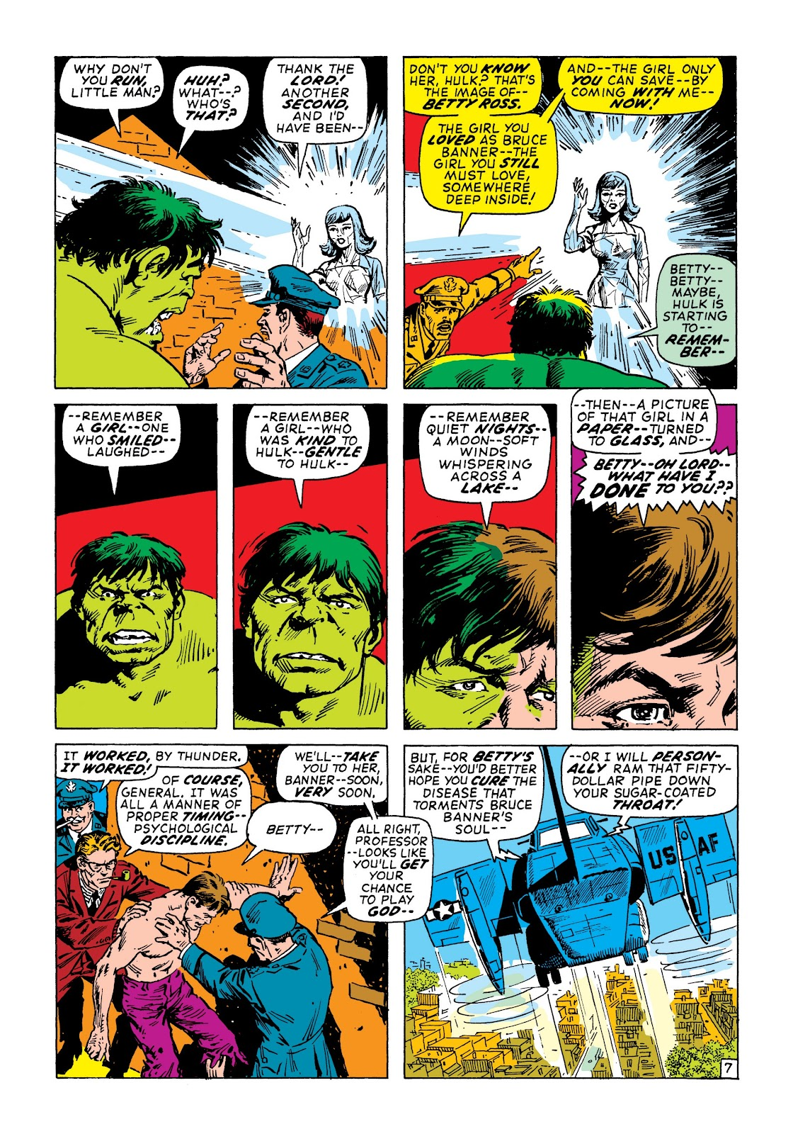 Read online Marvel Masterworks: The Incredible Hulk comic -  Issue # TPB 7 (Part 2) - 54