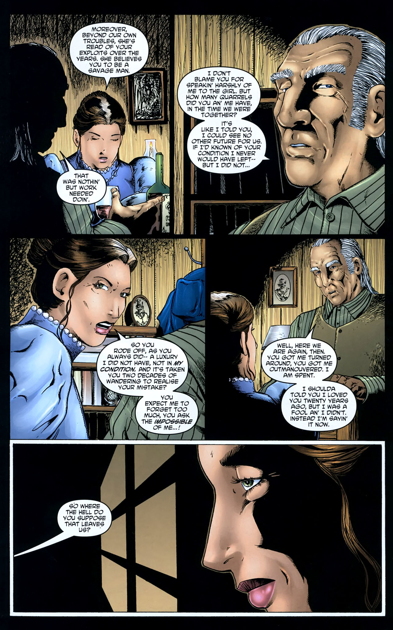 Read online Garth Ennis' Streets of Glory comic -  Issue #5 - 16
