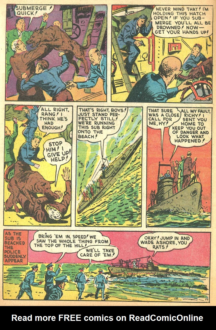 Blue Ribbon Comics (1939) issue 8 - Page 12