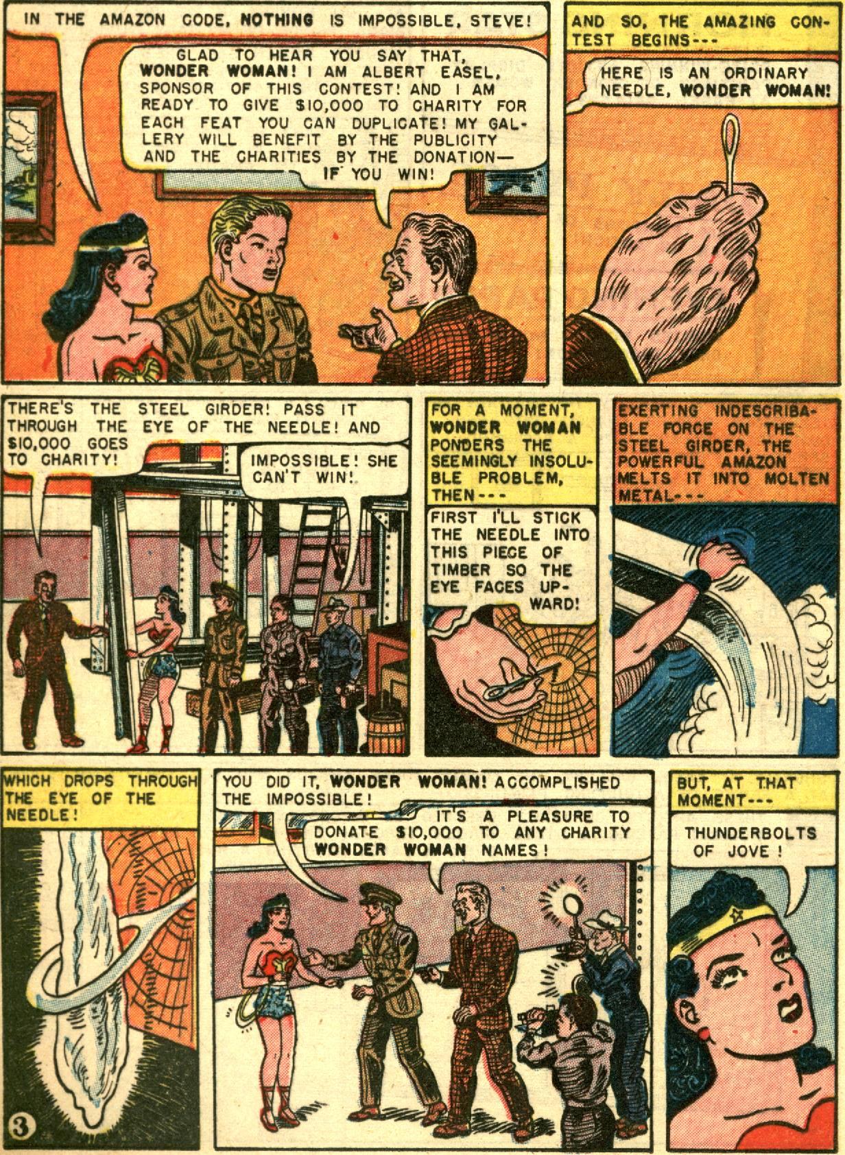 Read online Wonder Woman (1942) comic -  Issue #67 - 16