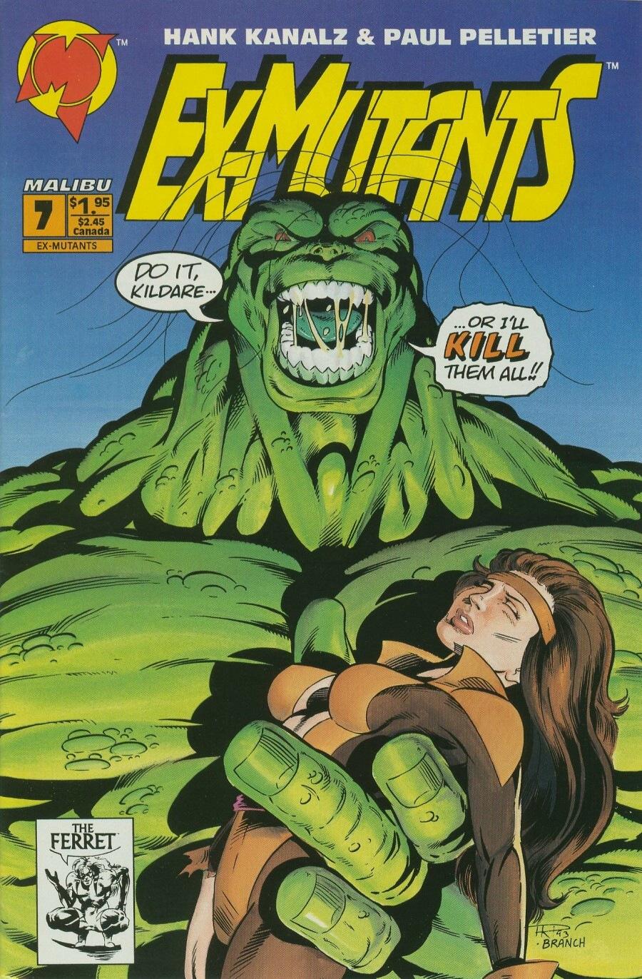 Read online Ex-Mutants comic -  Issue #7 - 1