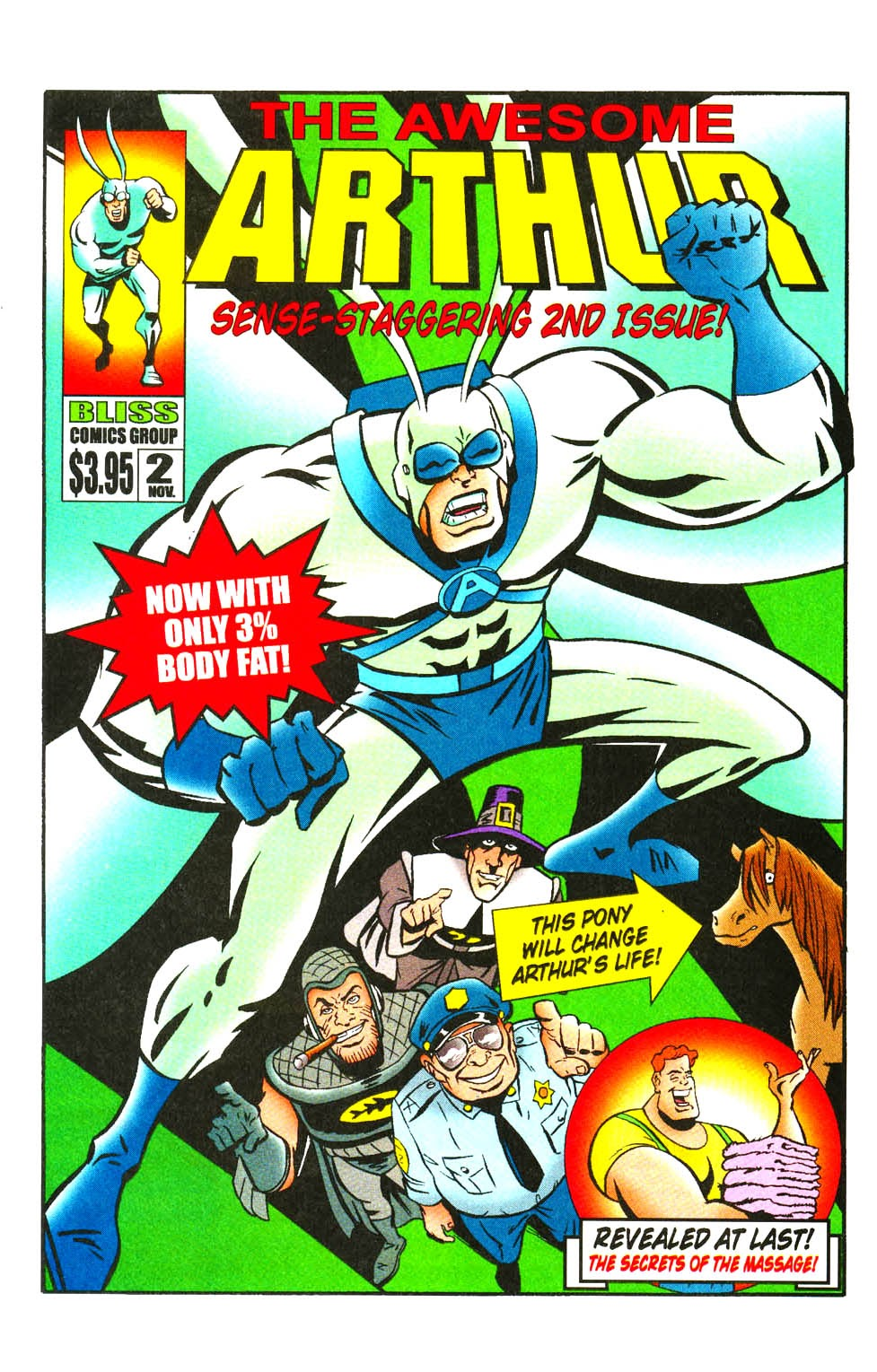 Read online The Tick: Days of Drama comic -  Issue #3 - 21