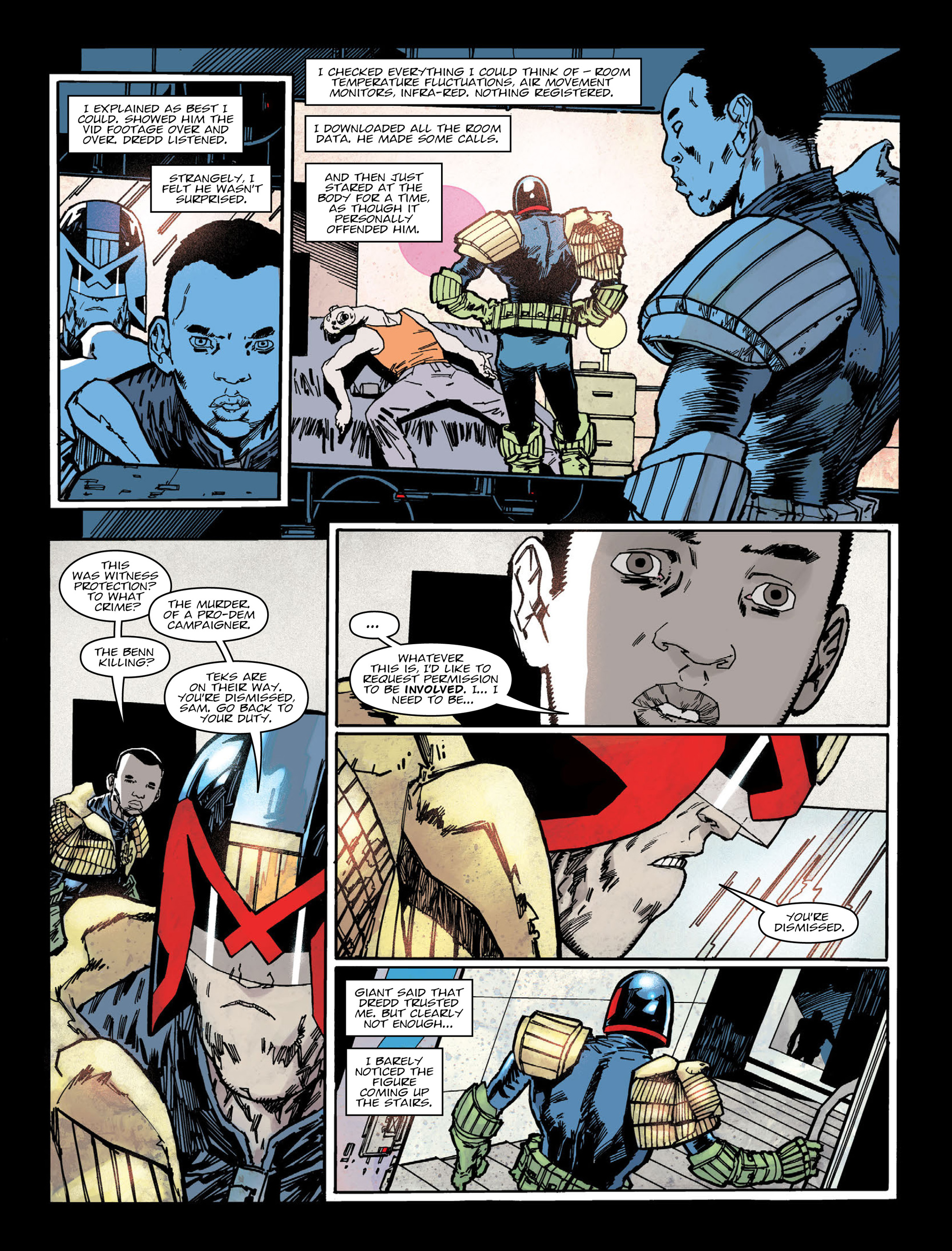 Read online 2000 AD comic -  Issue #2005 - 4
