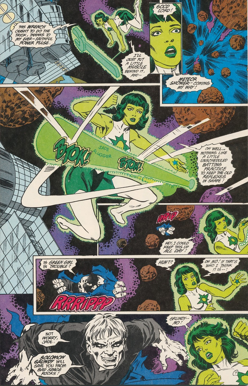 Infinity Inc. (1984) issue 40 - Page 9