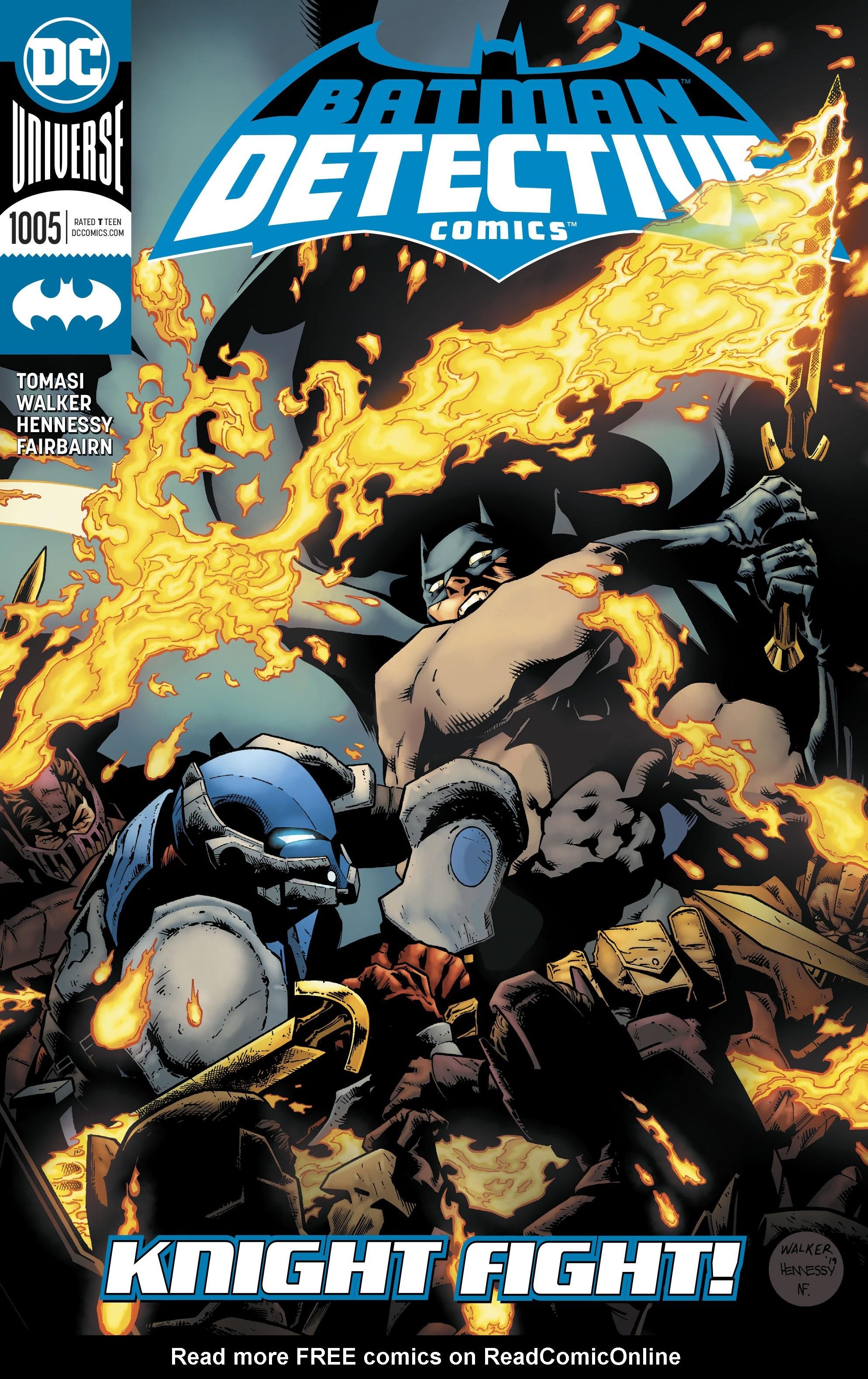 Detective Comics (2016) 1005 Page 1
