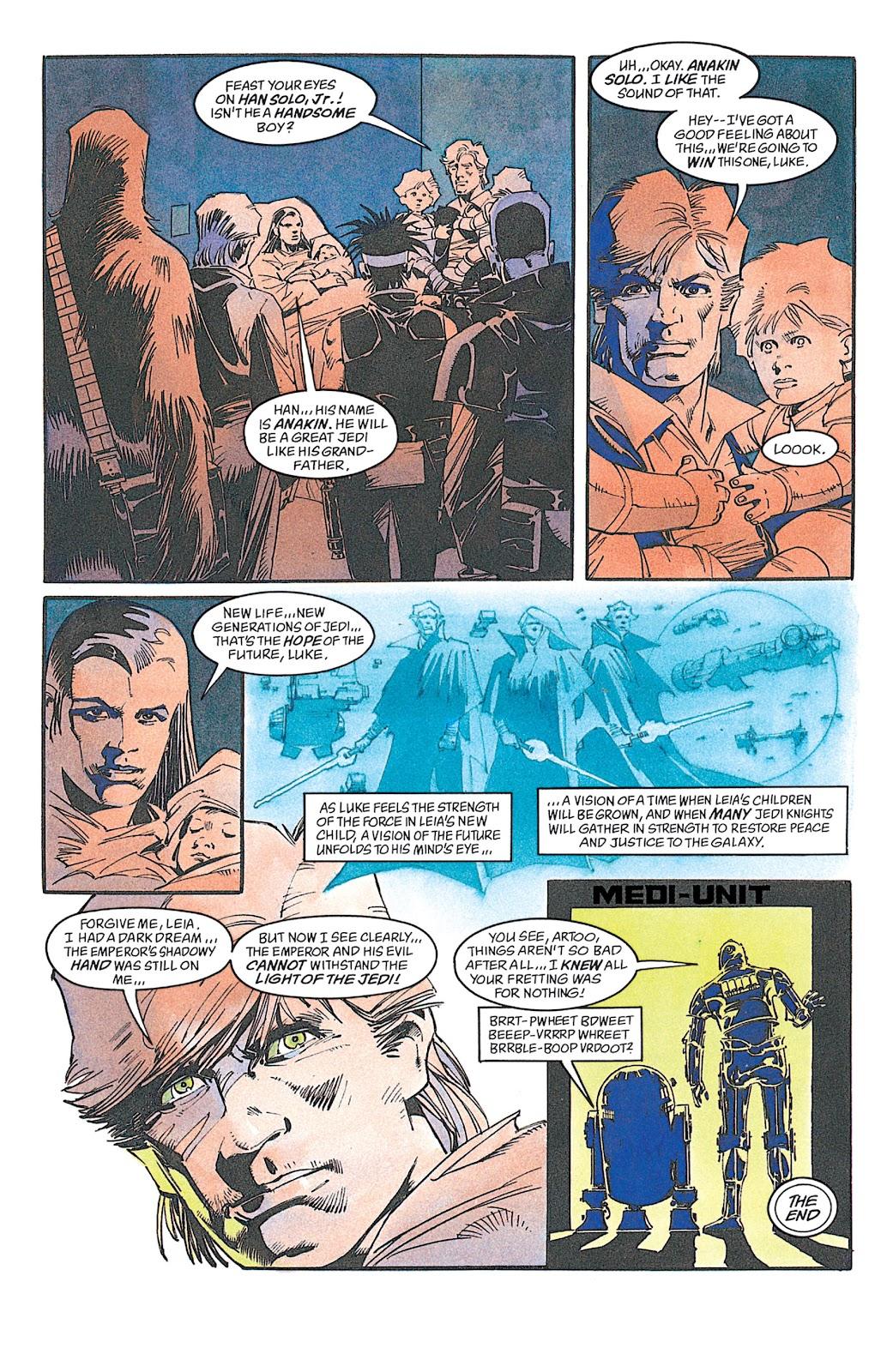 Read online Star Wars: Dark Empire Trilogy comic -  Issue # TPB (Part 4) - 6