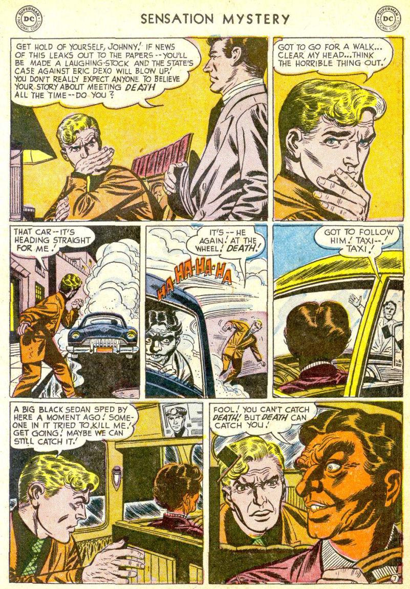 Read online Sensation (Mystery) Comics comic -  Issue #113 - 9