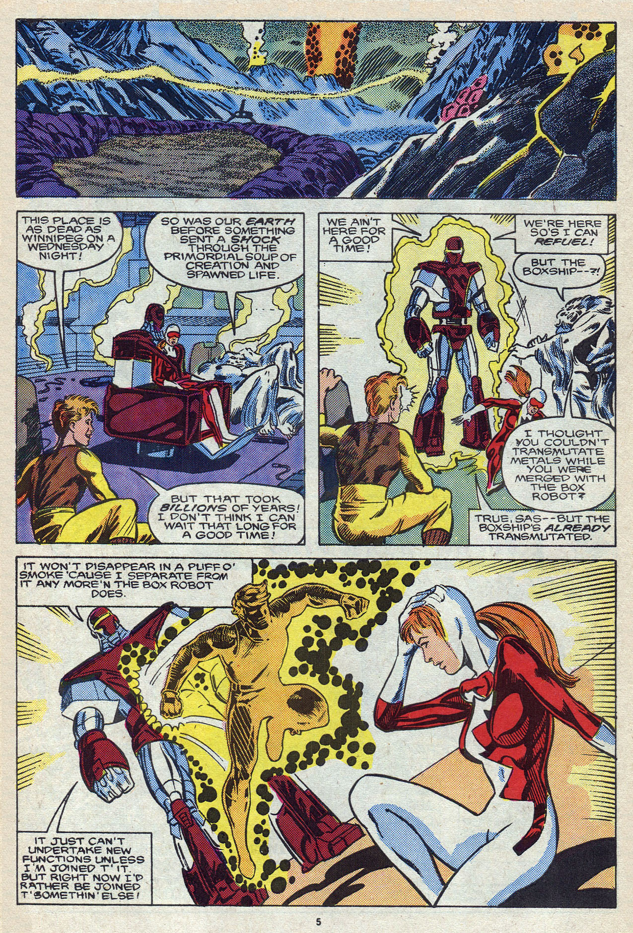 Read online Alpha Flight (1983) comic -  Issue #57 - 8