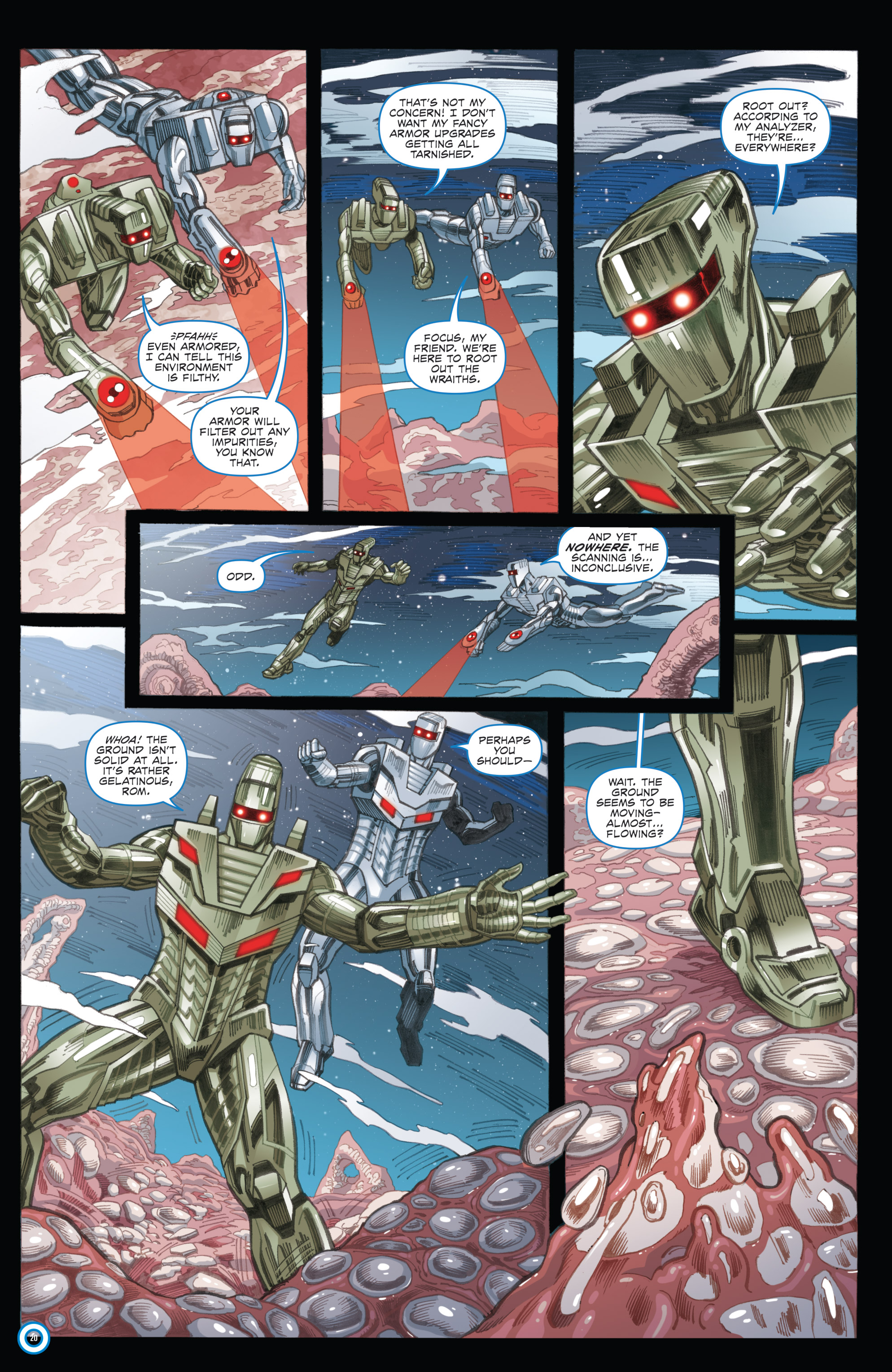 Read online ROM (2016) comic -  Issue #11 - 22
