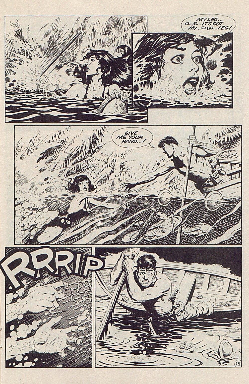 Read online Xenozoic Tales comic -  Issue #5 - 18