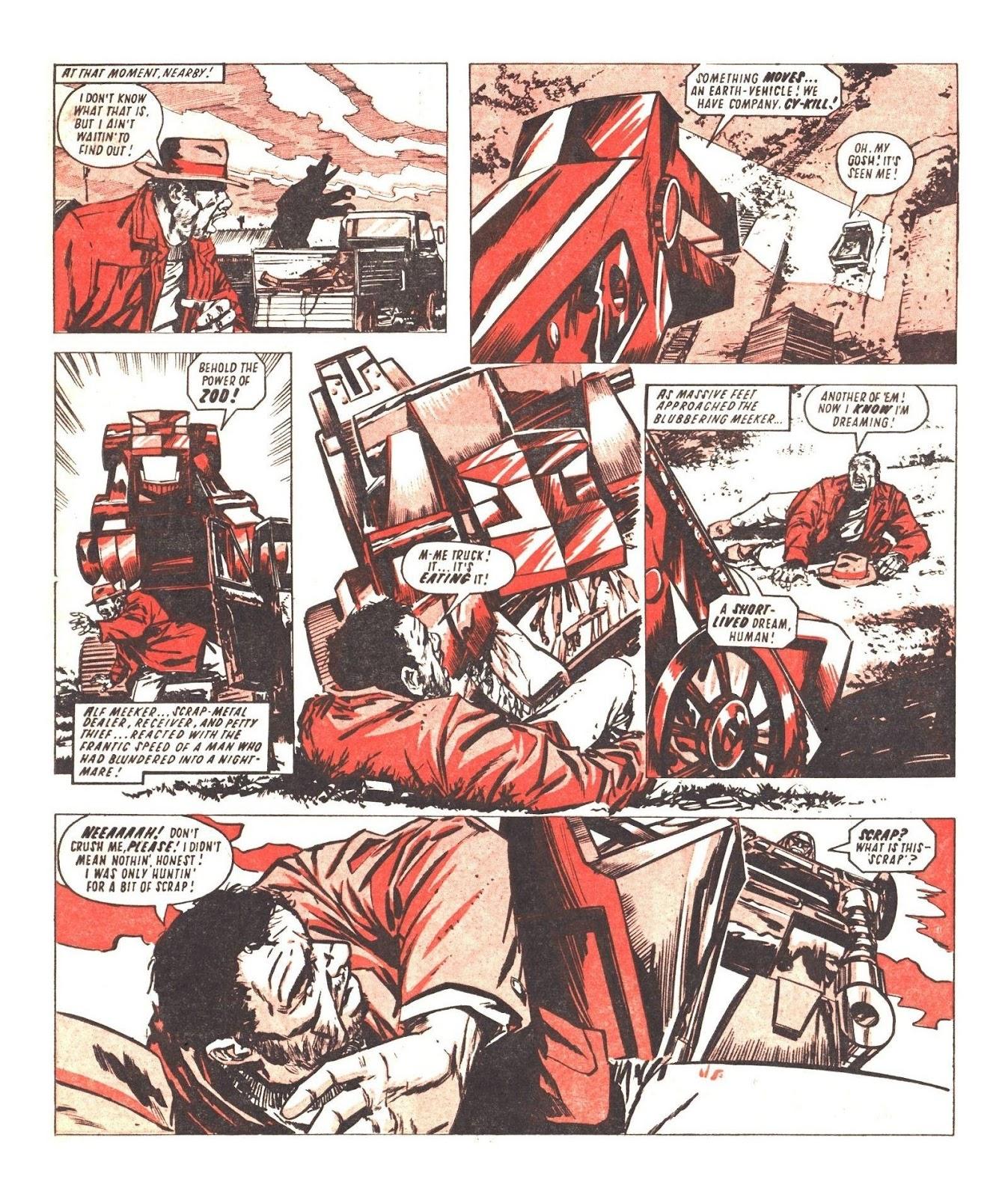 Read online Robo Machines comic -  Issue # TPB - 71