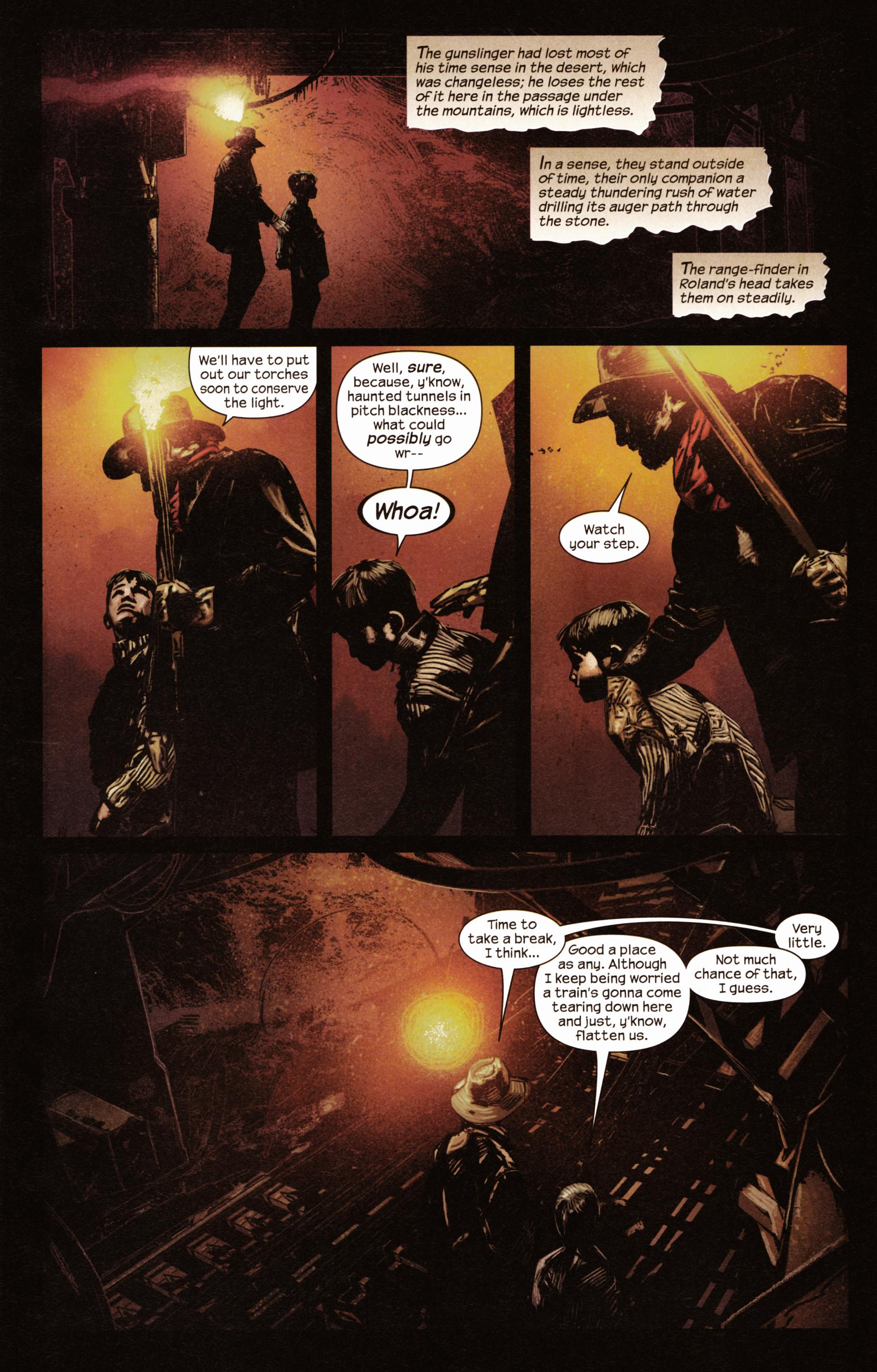 Read online Dark Tower: The Gunslinger - The Man in Black comic -  Issue #2 - 8