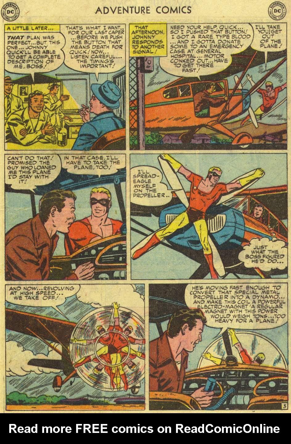 Read online Adventure Comics (1938) comic -  Issue #167 - 29