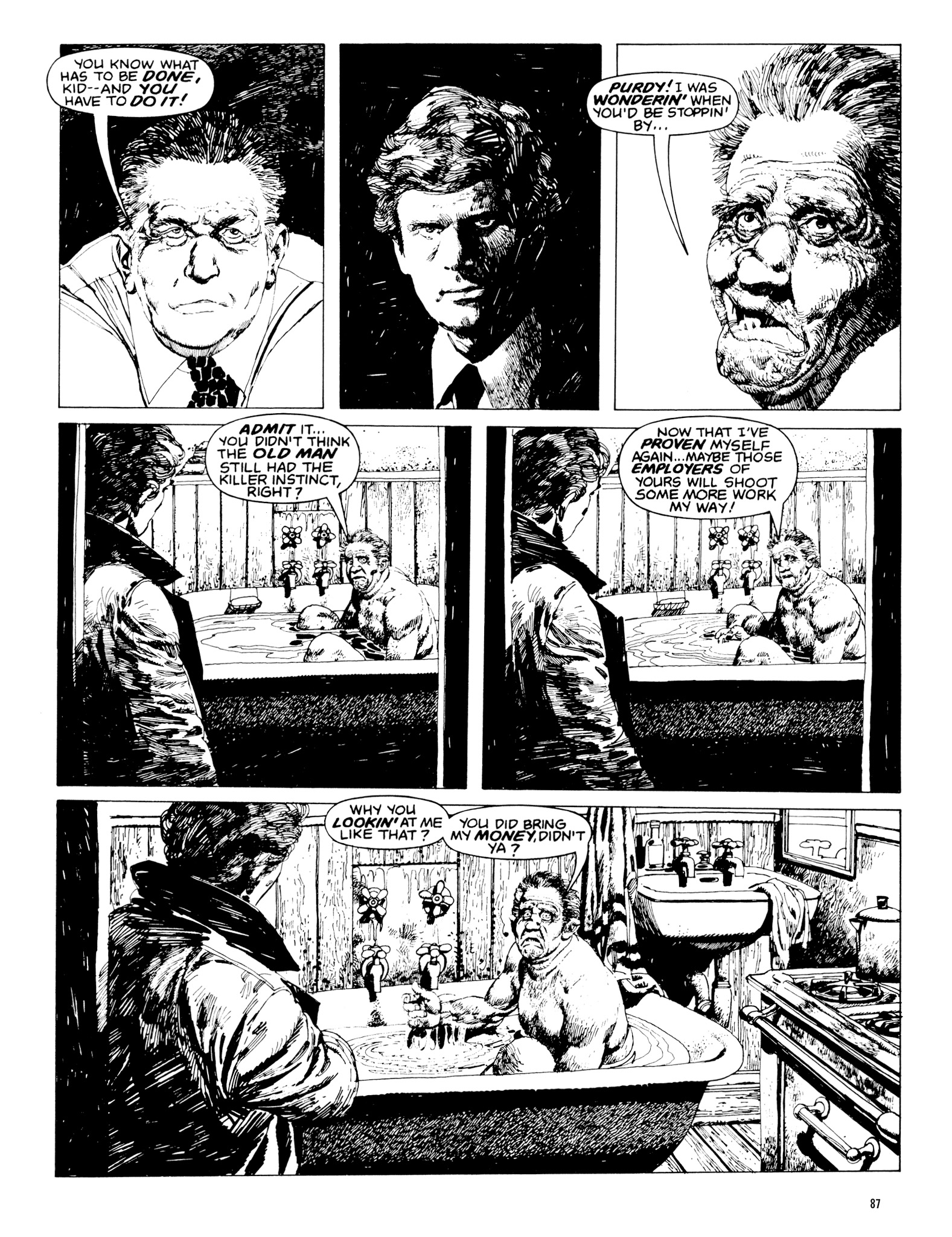 Read online Eerie Archives comic -  Issue # TPB 20 - 87