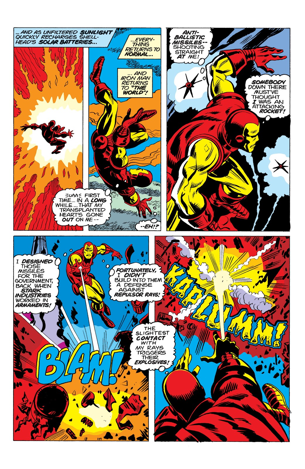 Read online Marvel Masterworks: The Invincible Iron Man comic -  Issue # TPB 10 (Part 1) - 48