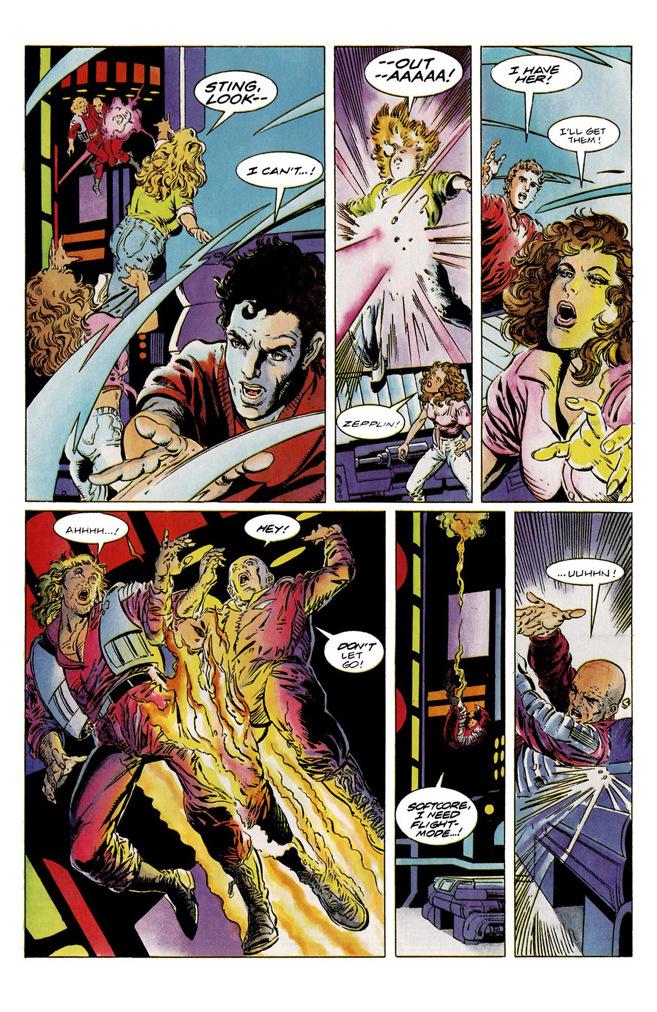 Read online Harbinger (1992) comic -  Issue #11 - 18