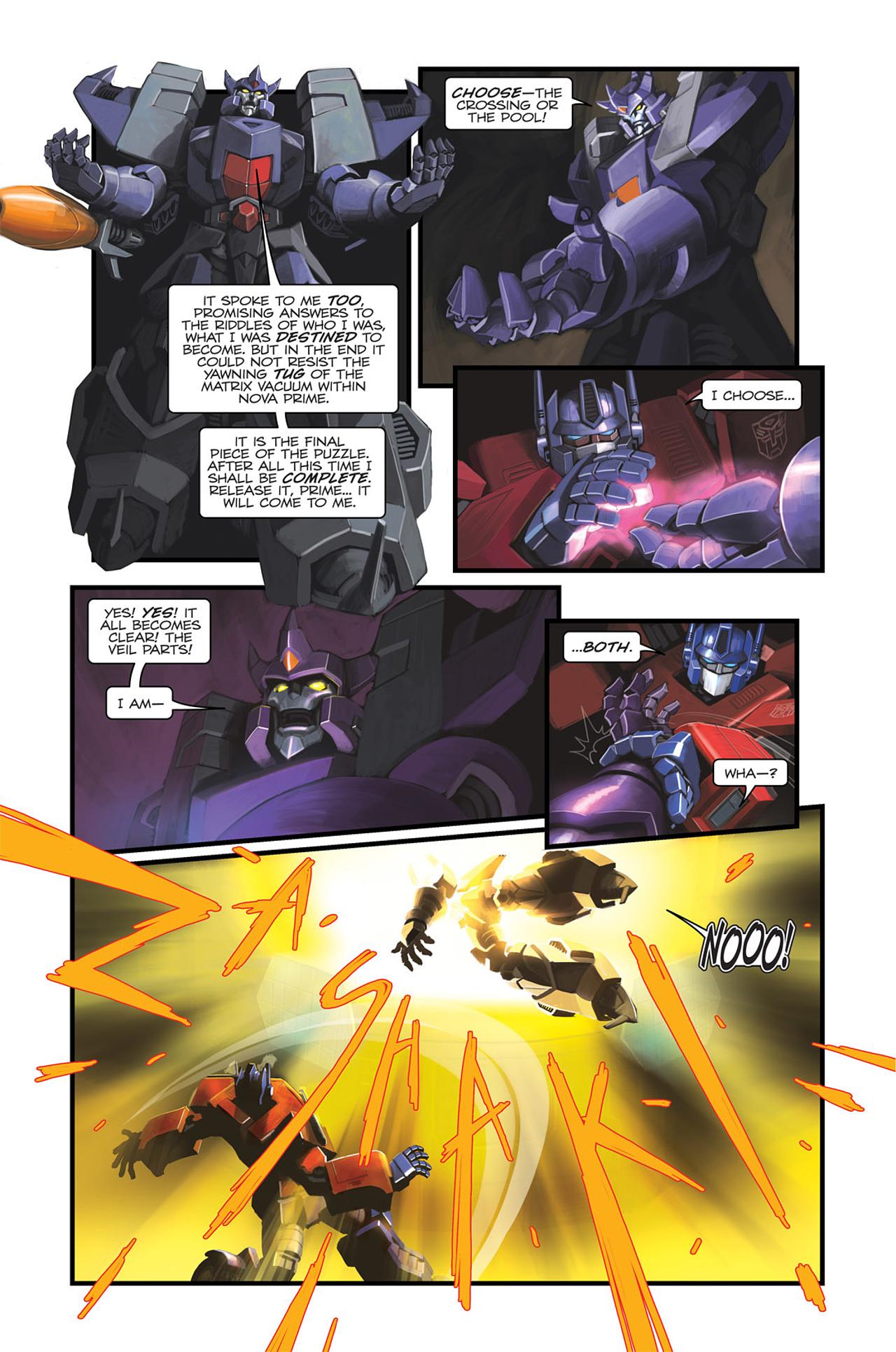 Read online Transformers Spotlight: Sideswipe comic -  Issue # Full - 21