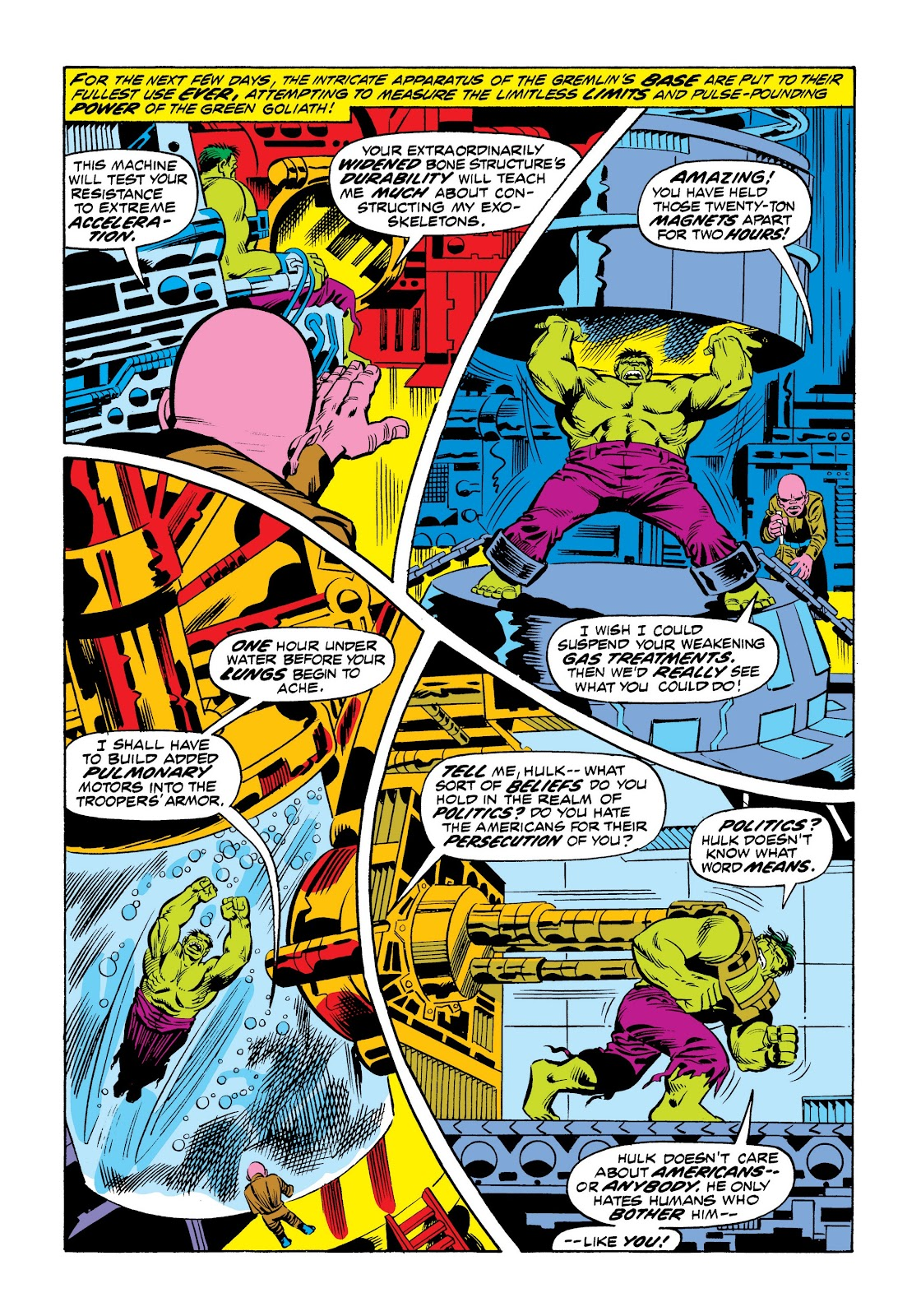 Read online Marvel Masterworks: The Incredible Hulk comic -  Issue # TPB 9 (Part 2) - 49