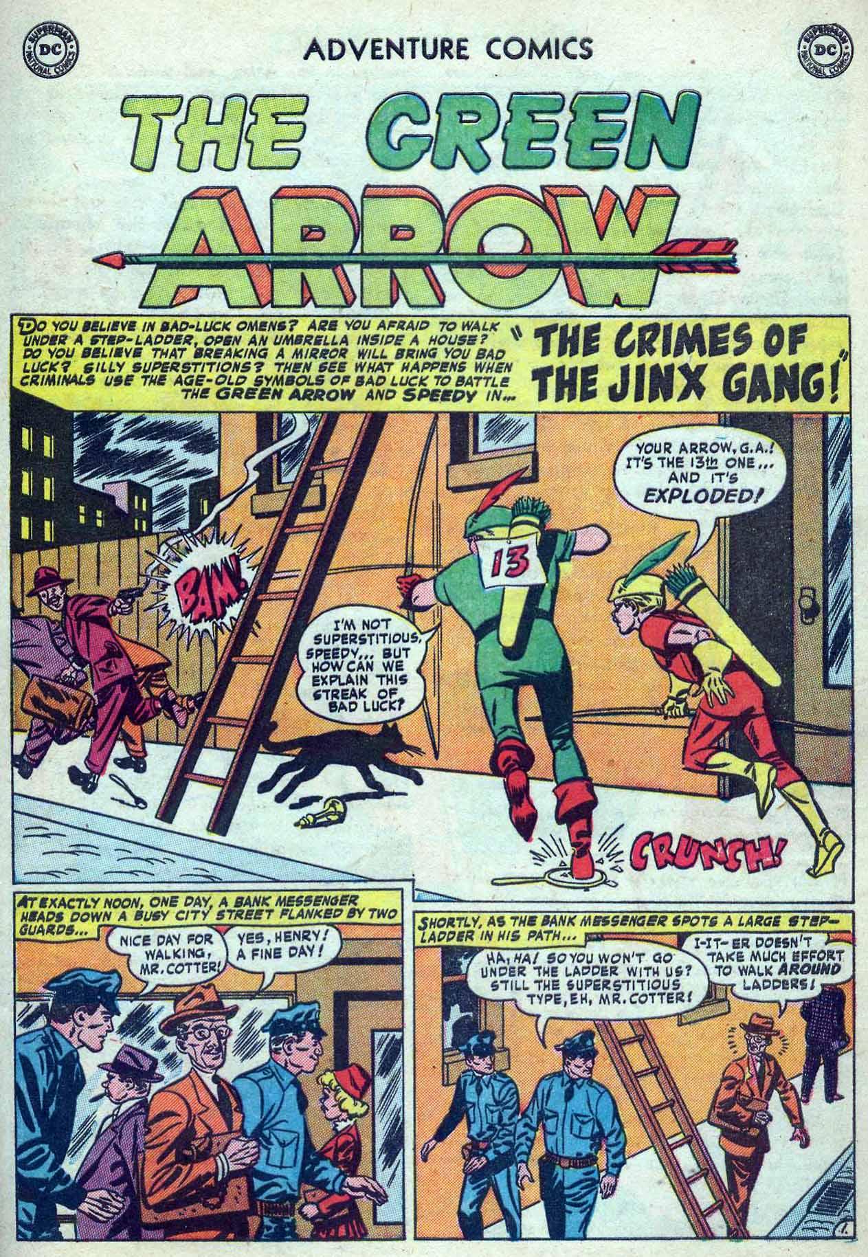 Read online Adventure Comics (1938) comic -  Issue #180 - 35
