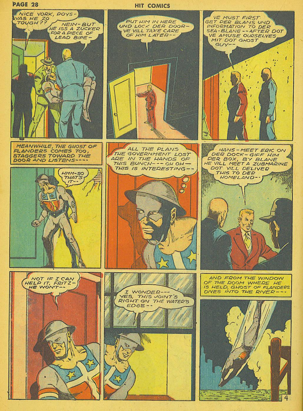Read online Hit Comics comic -  Issue #21 - 30