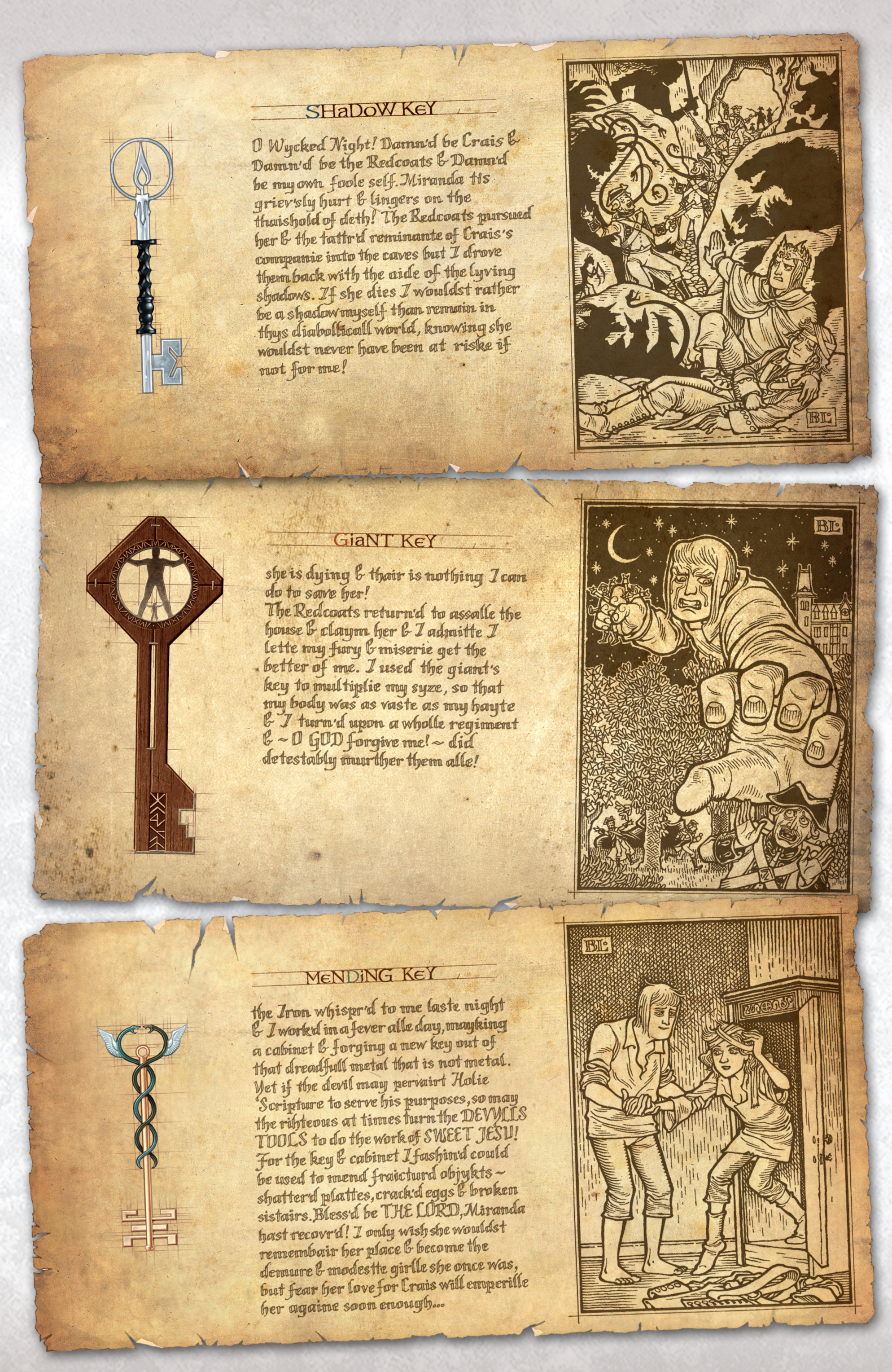 Read online Locke & Key: Guide to the Known Keys comic -  Issue # Full - 21