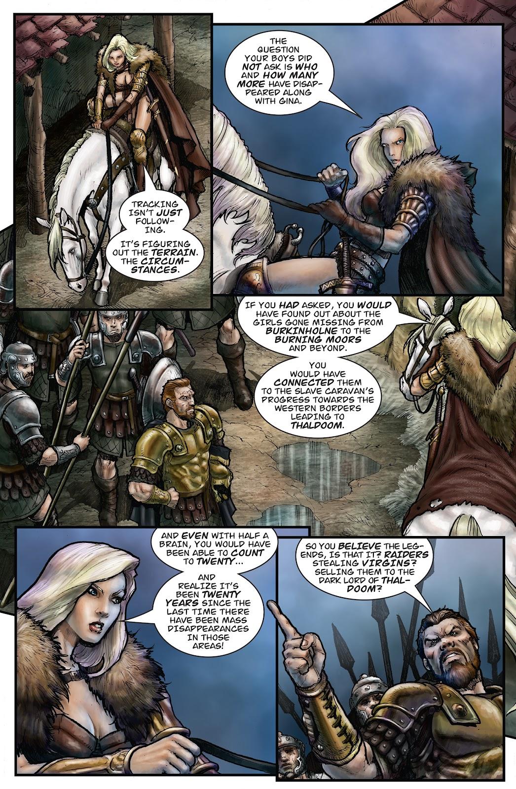 Arhian Head Huntress Issue 2 | Read Arhian Head Huntress