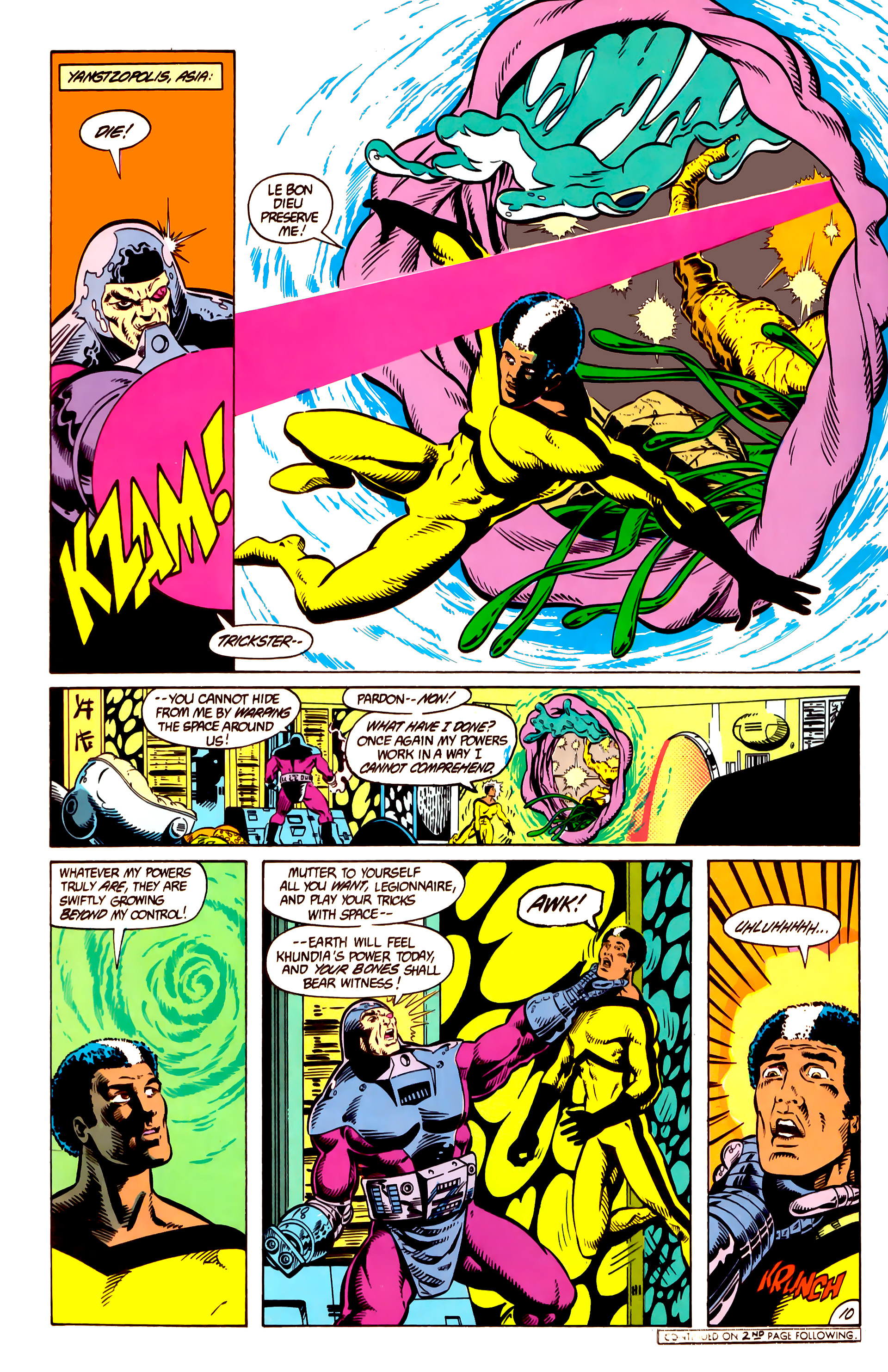 Legion of Super-Heroes (1984) 10 Page 11