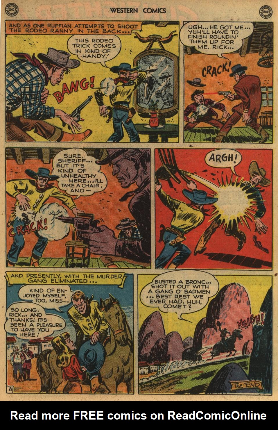 Western Comics issue 1 - Page 21