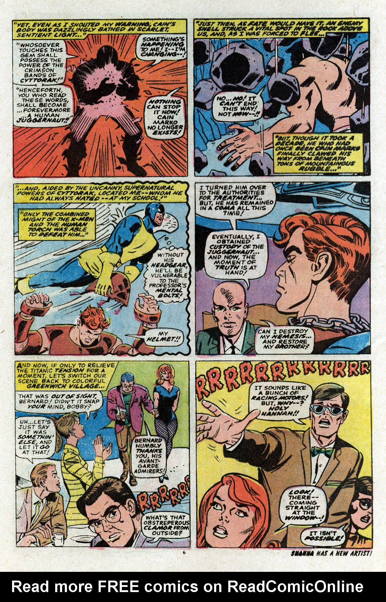 Uncanny X-Men (1963) 80 Page 7