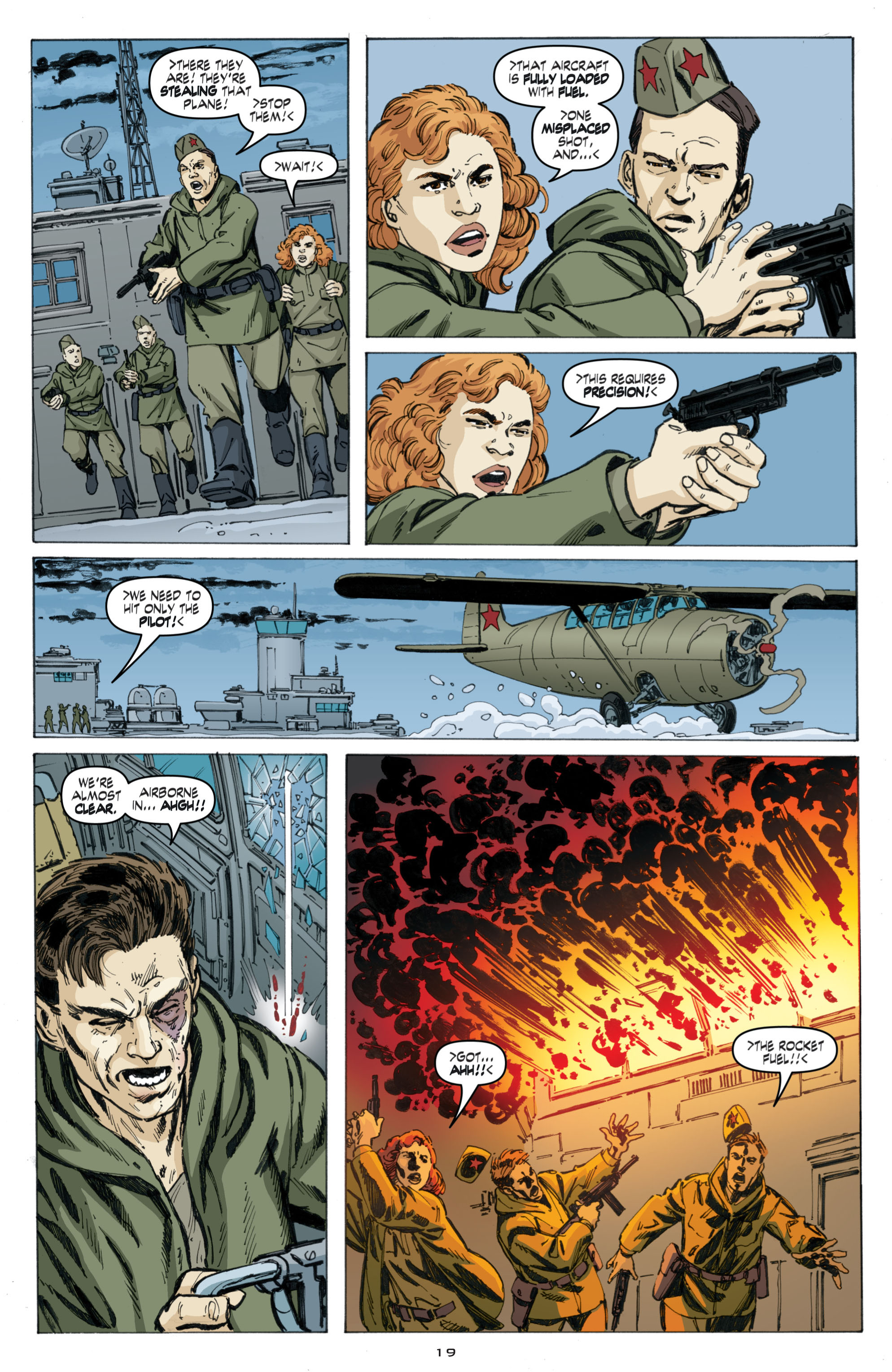 Read online Cold War comic -  Issue # TPB - 103