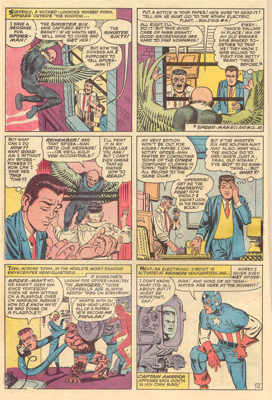 The Amazing Spider-Man (1963) _Annual_6 Page 12