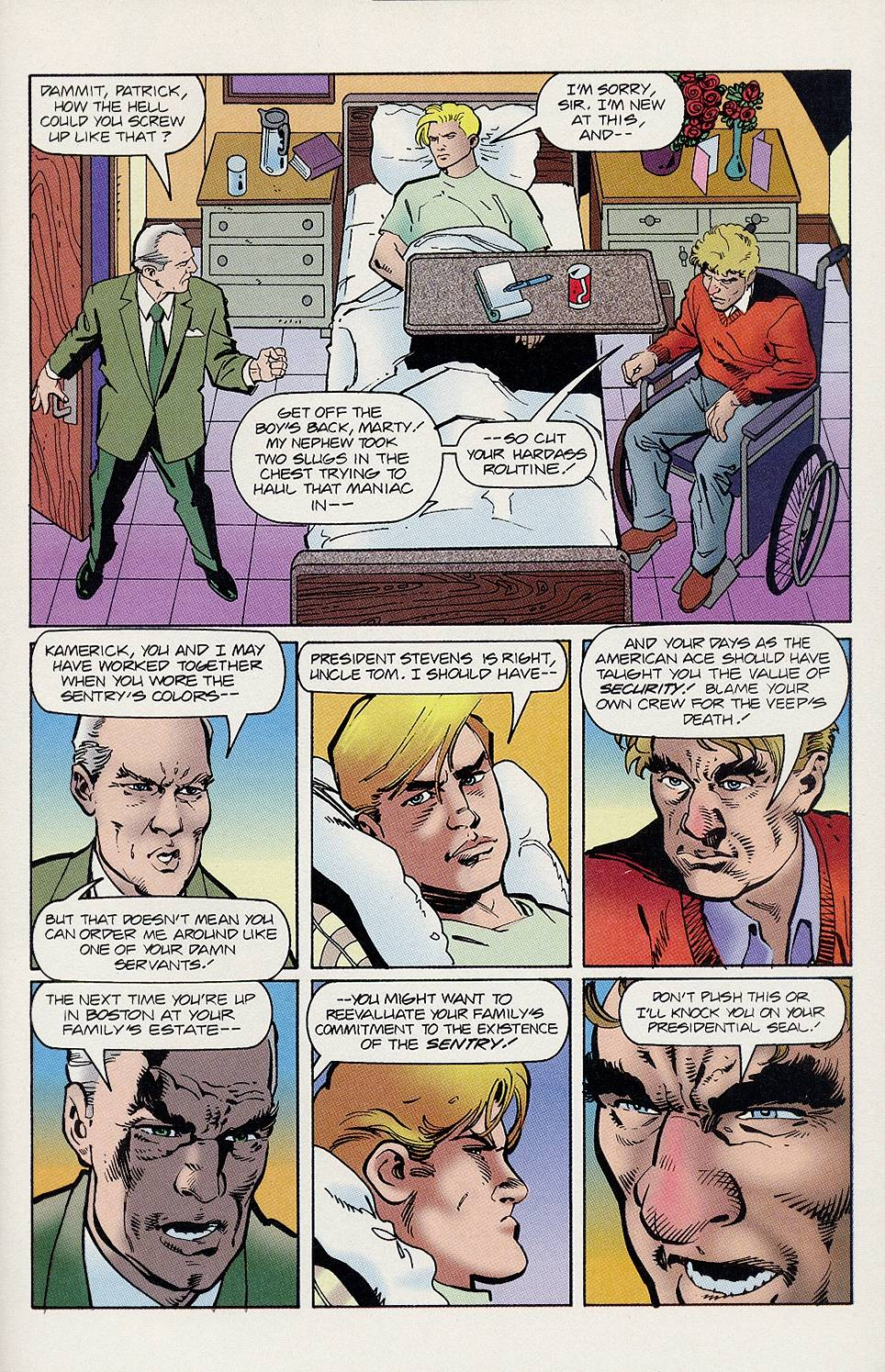 Read online Solar, Man of the Atom comic -  Issue #46 - 16