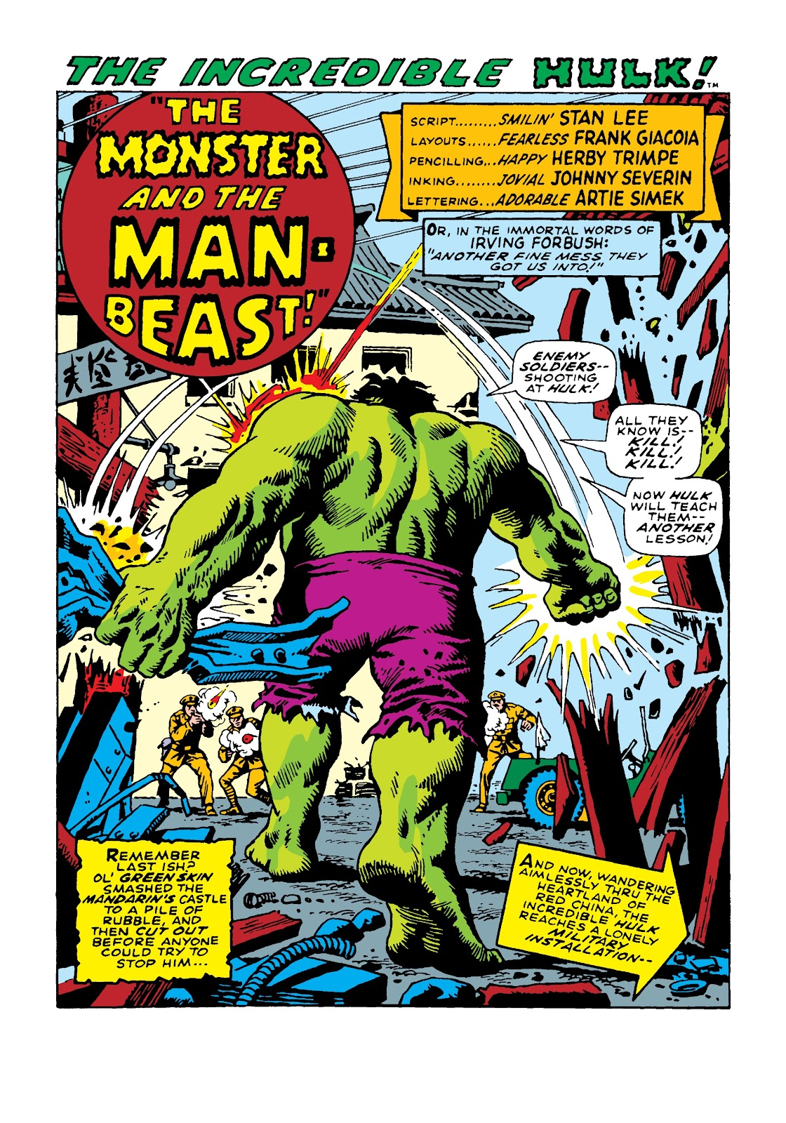 Read online Marvel Masterworks: The Incredible Hulk comic -  Issue # TPB 4 (Part 2) - 87