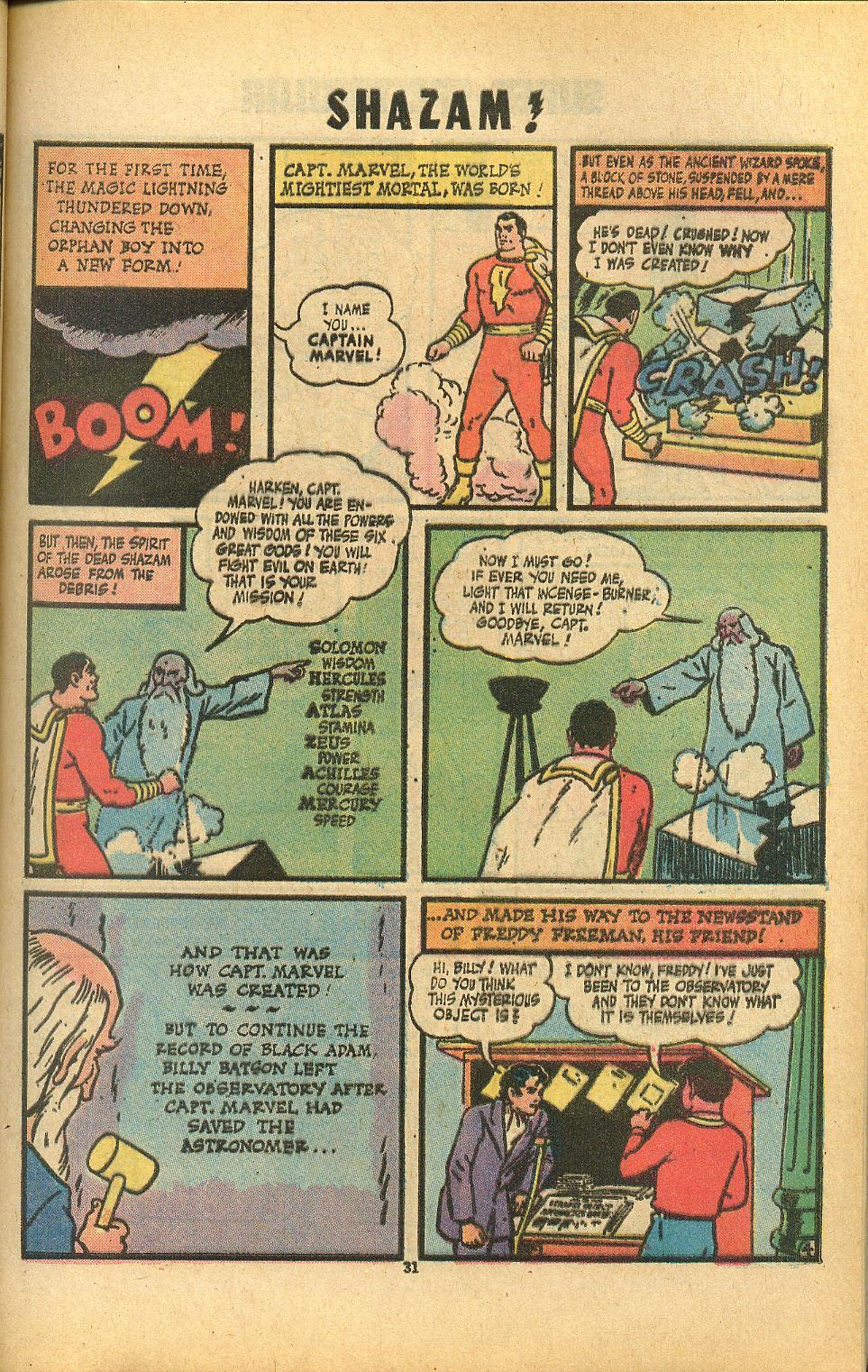 Read online Shazam! (1973) comic -  Issue #8 - 31