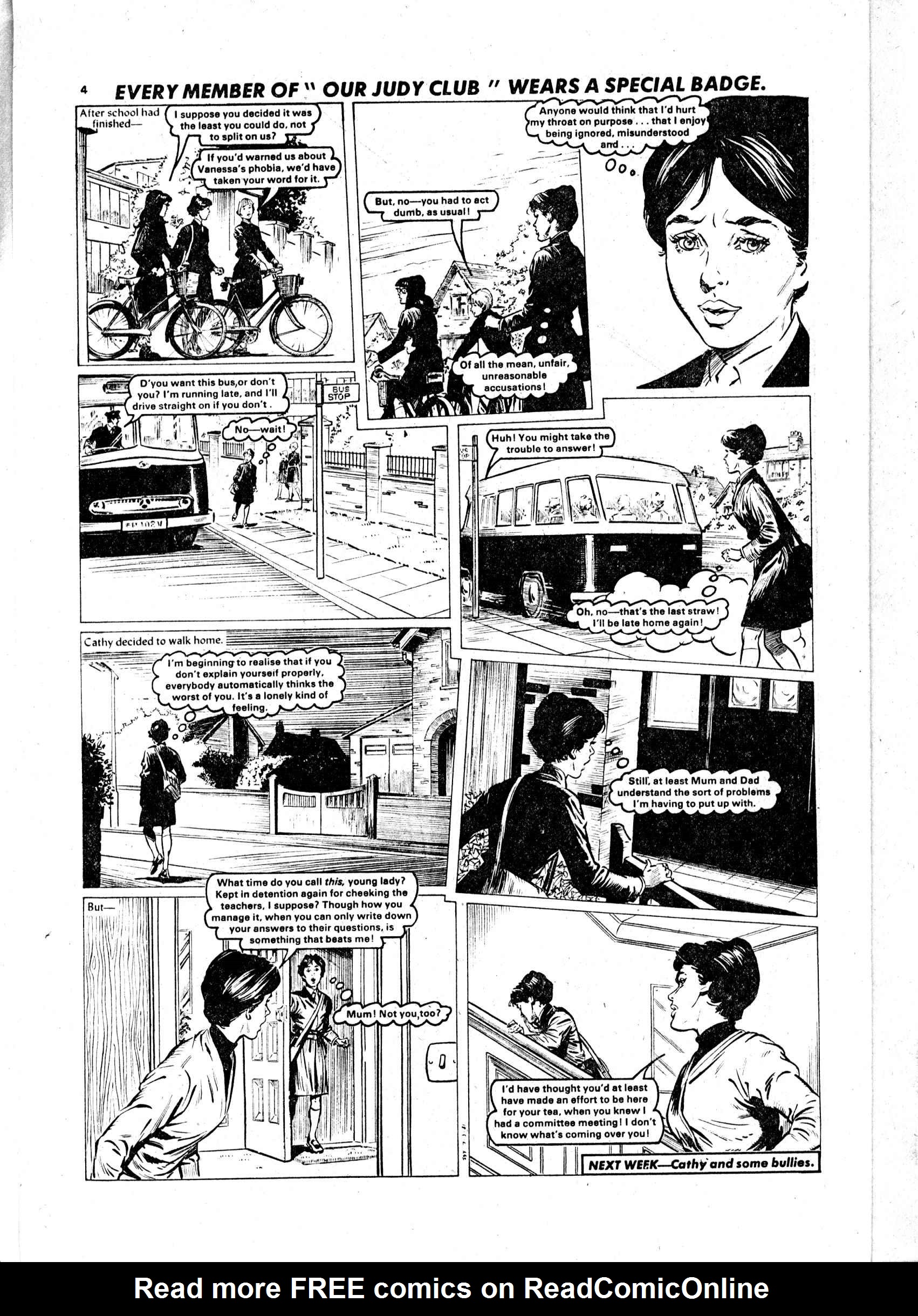 Read online Judy comic -  Issue #4 - 4
