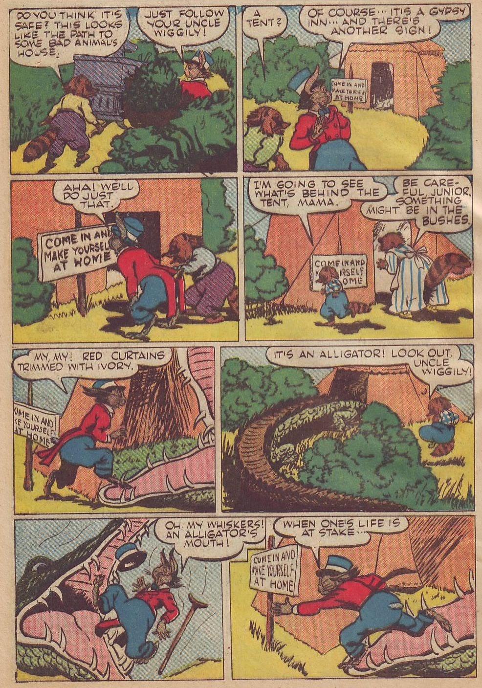 Read online Animal Comics comic -  Issue #13 - 4