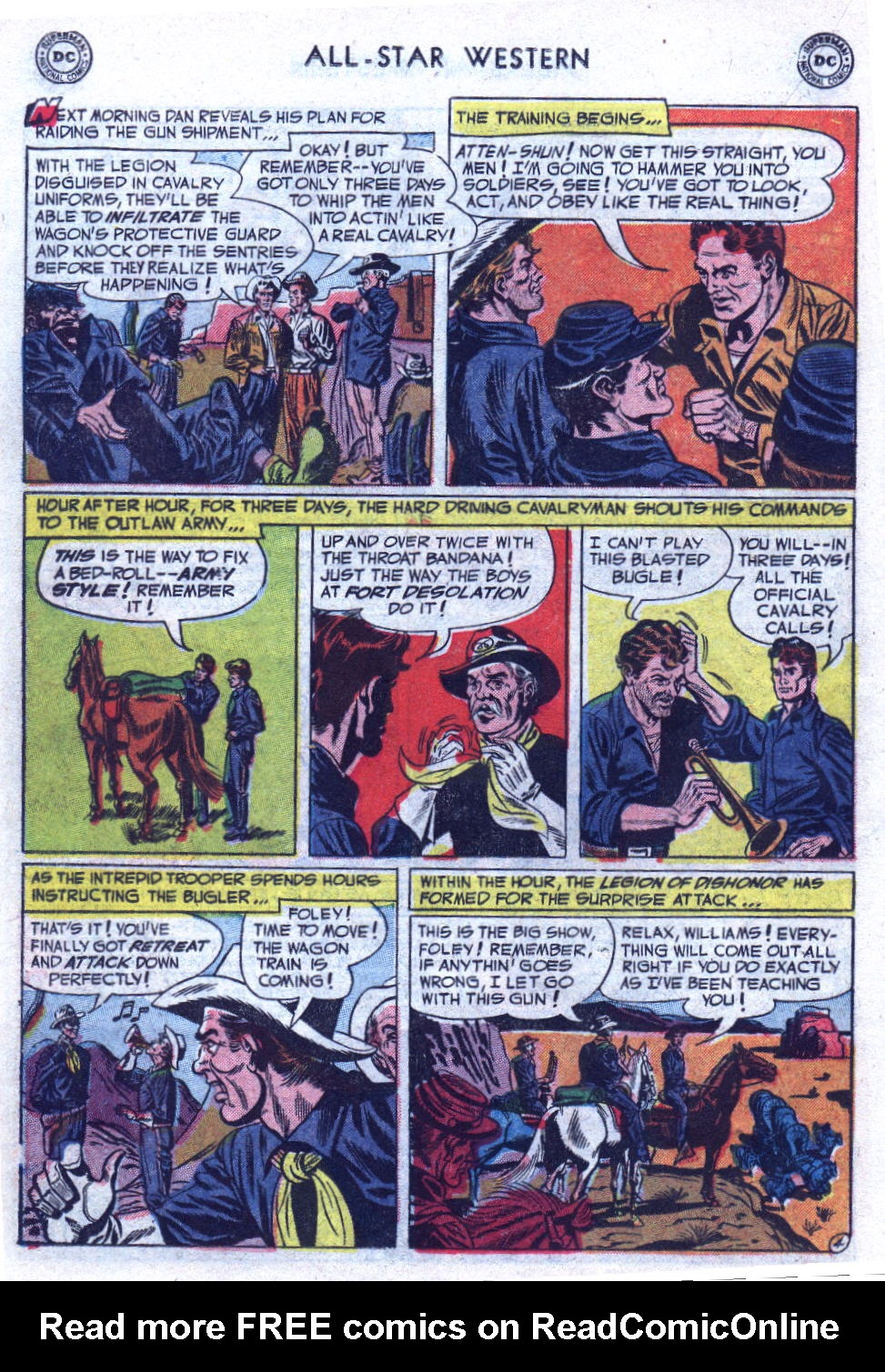 Read online All-Star Western (1951) comic -  Issue #69 - 22