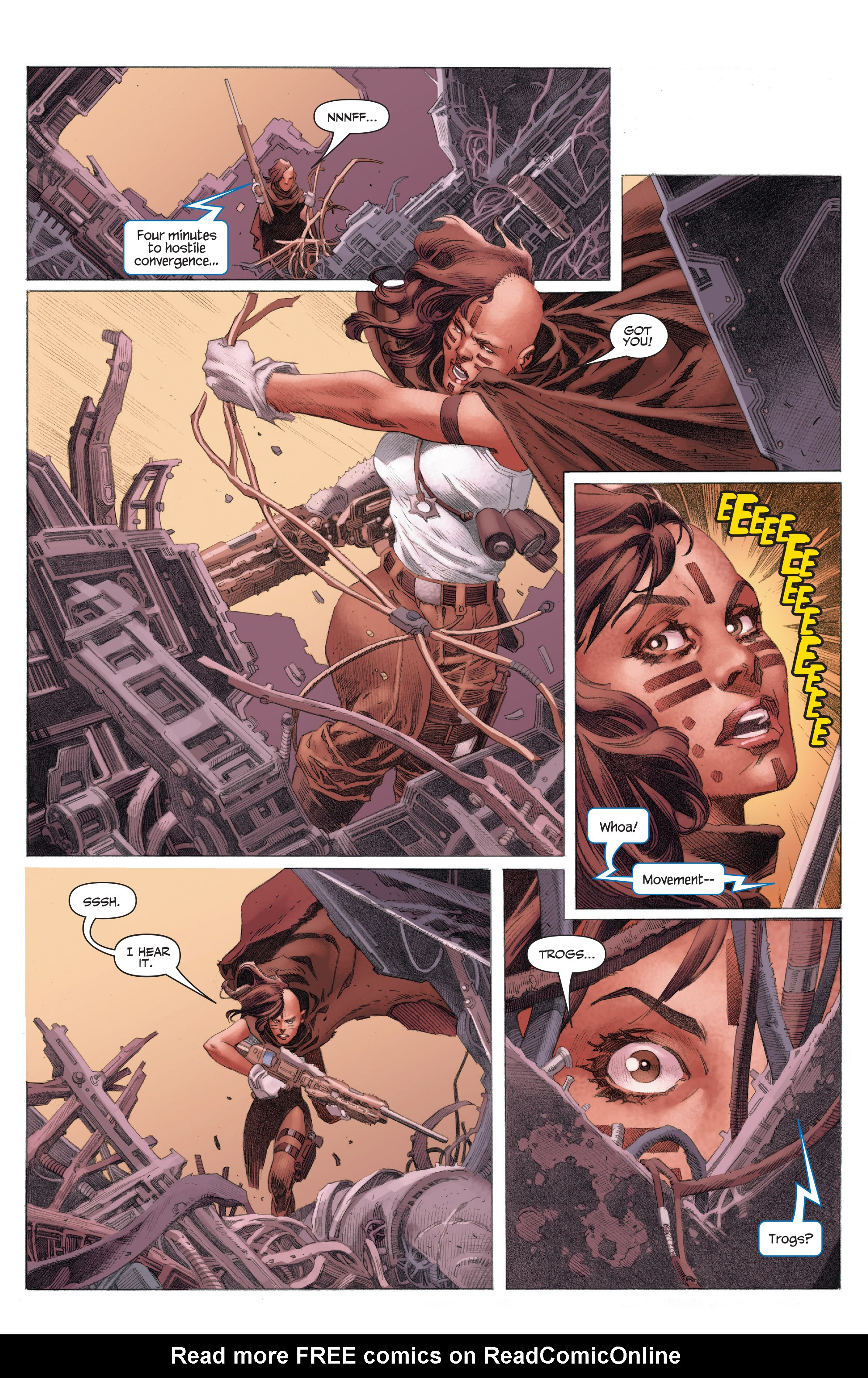 Read online 4001 A.D.: War Mother comic -  Issue #4001 A.D.: War Mother Full - 15