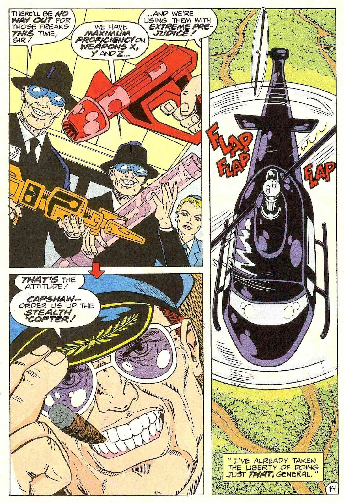 Read online Zen Intergalactic Ninja (1992) comic -  Issue #3 - 20