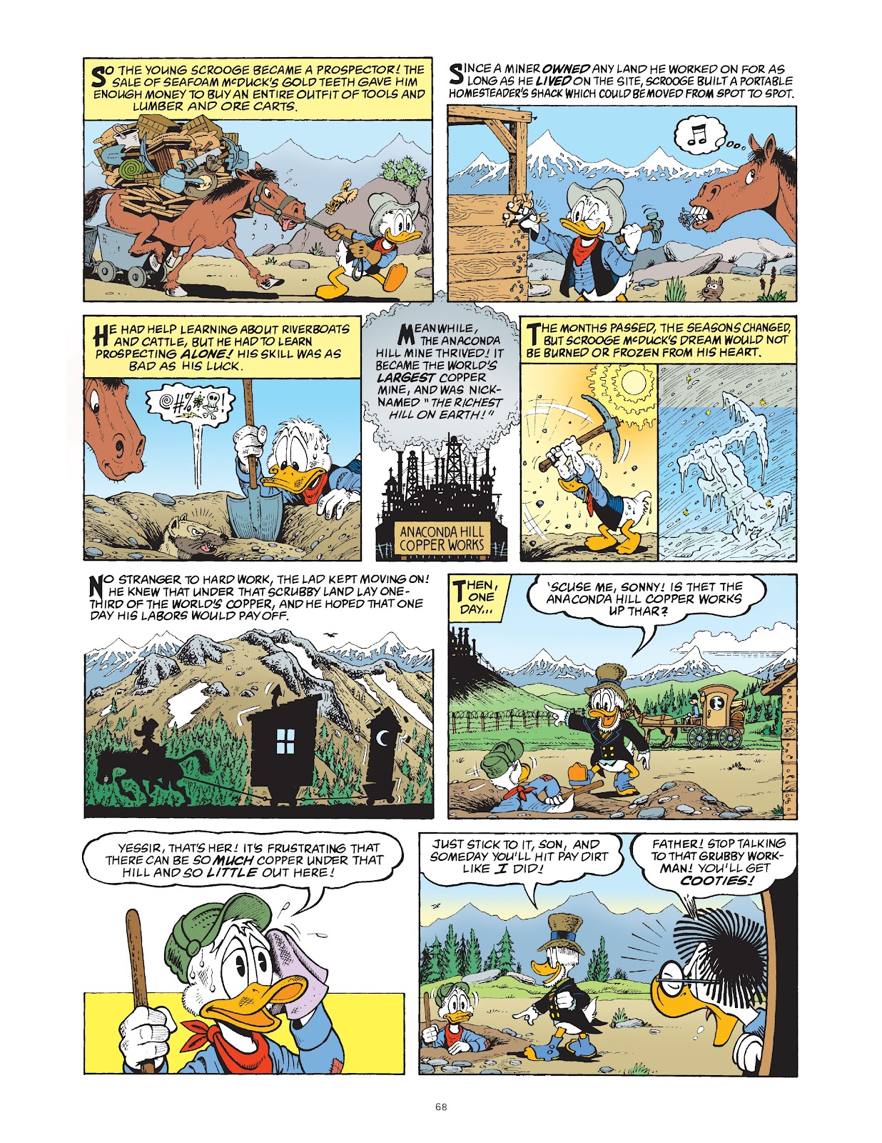 Read online The Complete Life and Times of Scrooge McDuck comic -  Issue # TPB 1 (Part 1) - 72