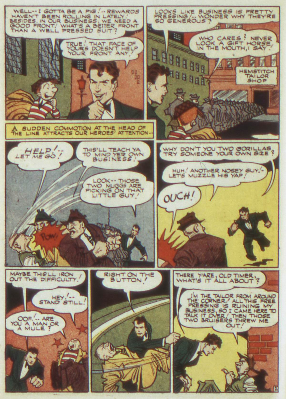 Read online Detective Comics (1937) comic -  Issue #82 - 18
