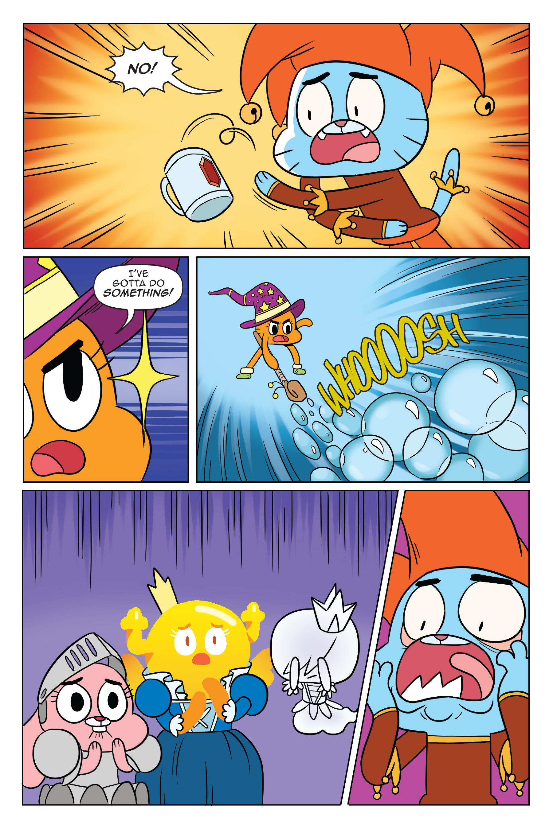 Read online The Amazing World of Gumball: Fairy Tale Trouble comic -  Issue # Full - 80