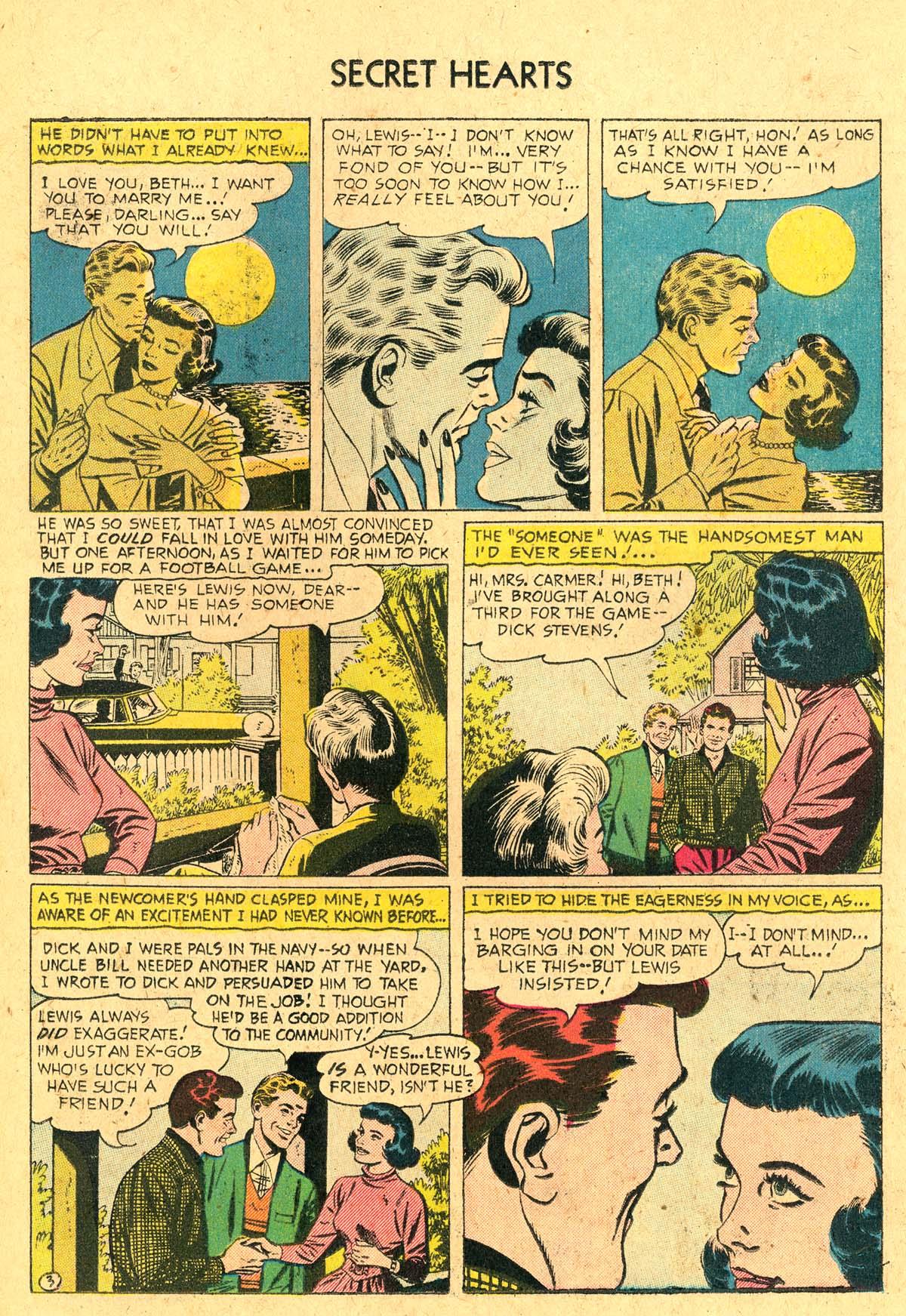 Read online Secret Hearts comic -  Issue #36 - 14