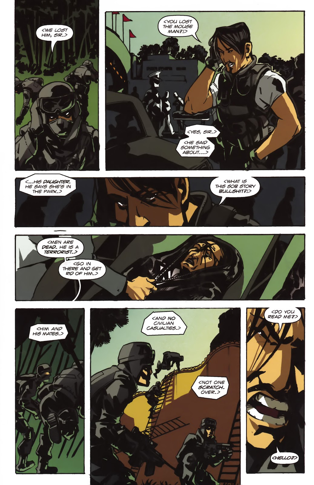 Read online Ricky Rouse Has A Gun comic -  Issue # TPB (Part 1) - 91